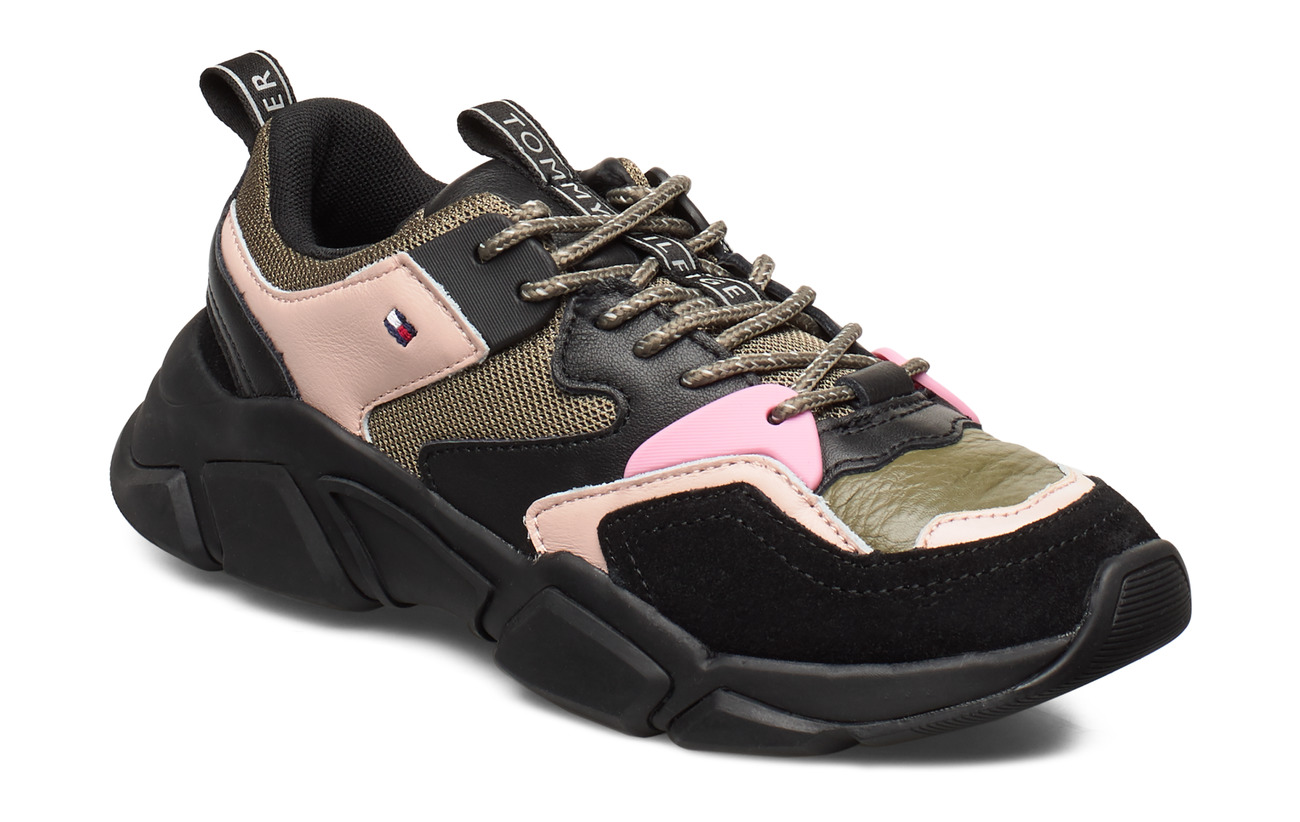Tommy Hilfiger COSY CHUNKY SNEAKER - STONE GRAY