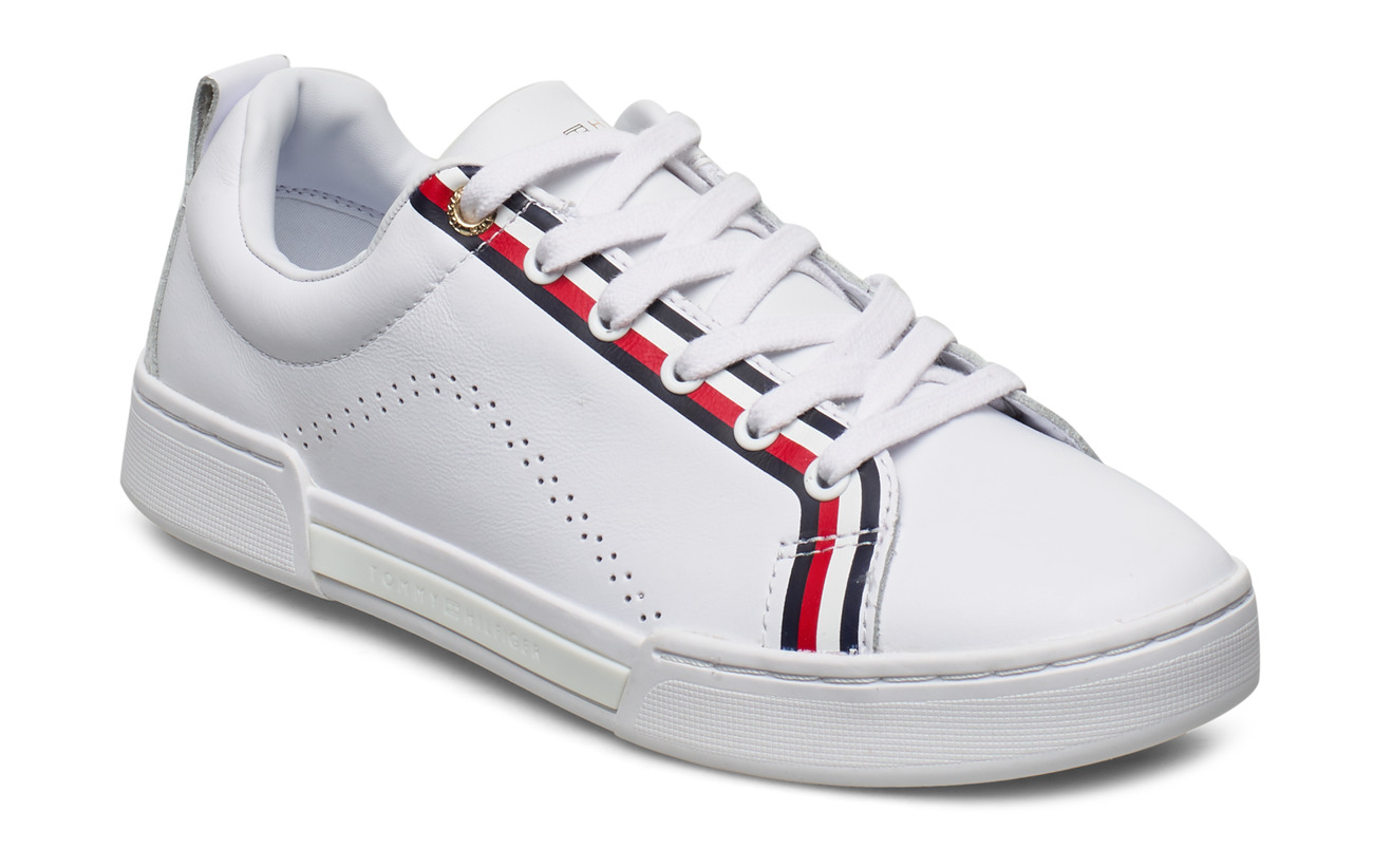 Tommy Hilfiger BRANDED OUTSOLE PERF SNEAKER - RWB