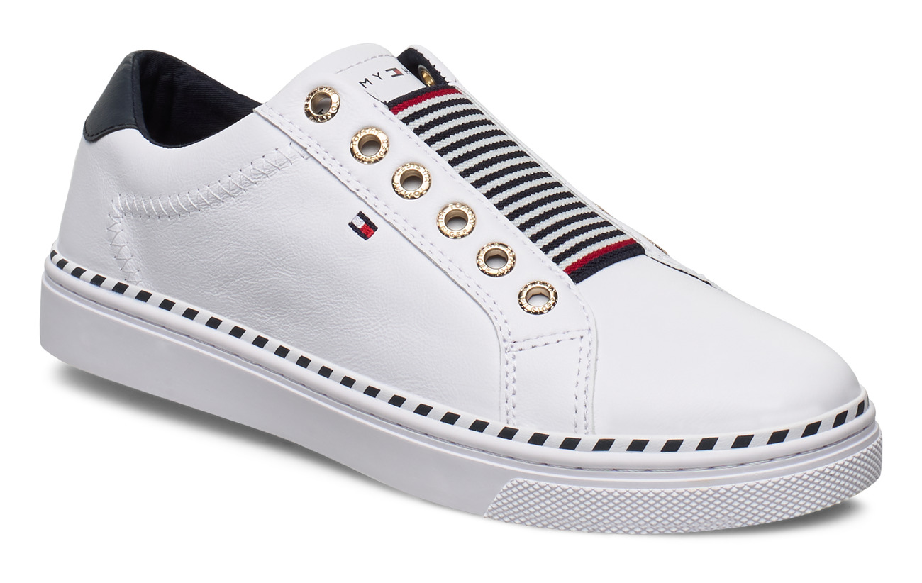 Tommy Hilfiger TOMMY ELASTIC CITY SNEAKER - WHITE