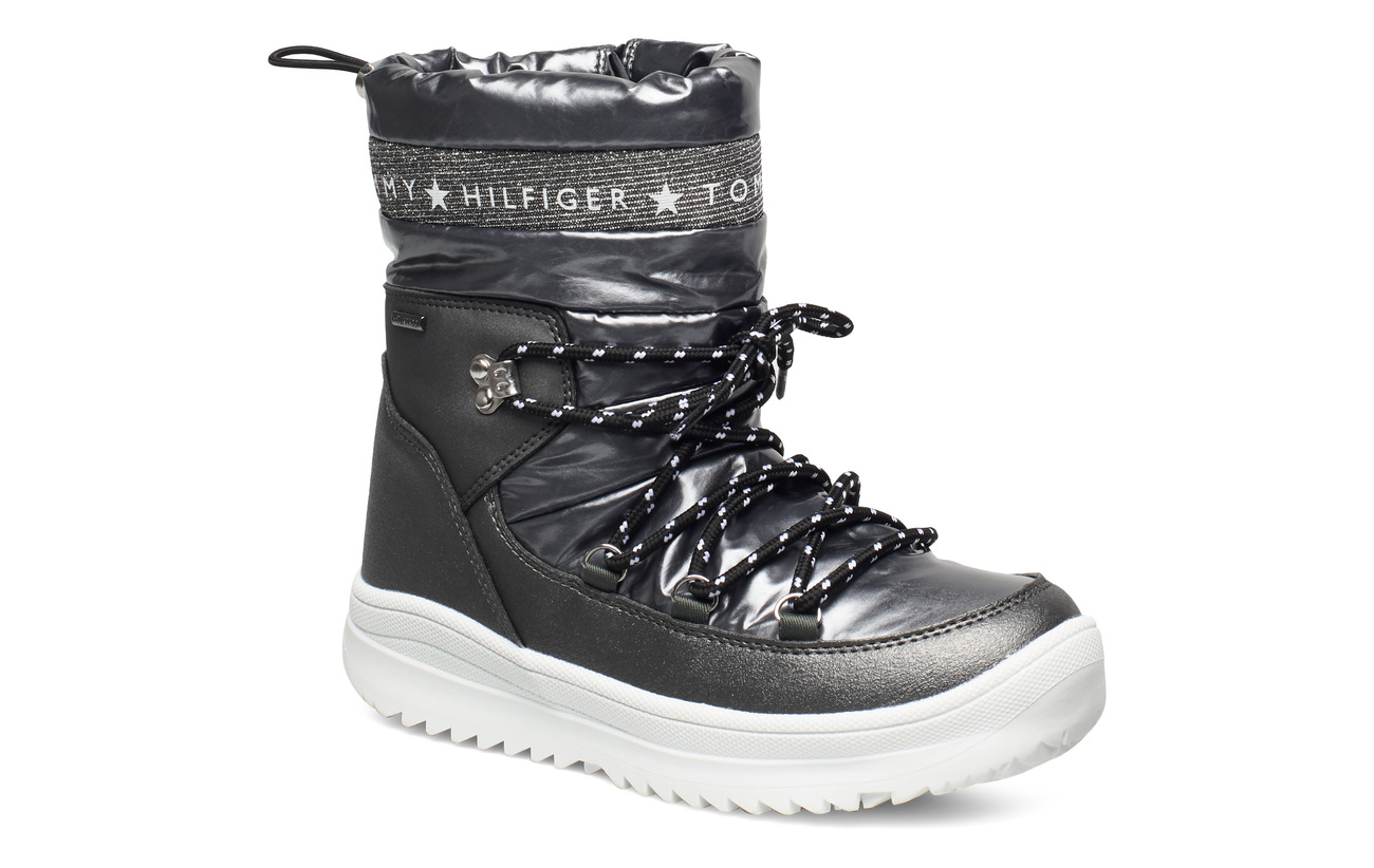 Tommy Hilfiger TECHNICAL BOOTIE - DARK SILVER
