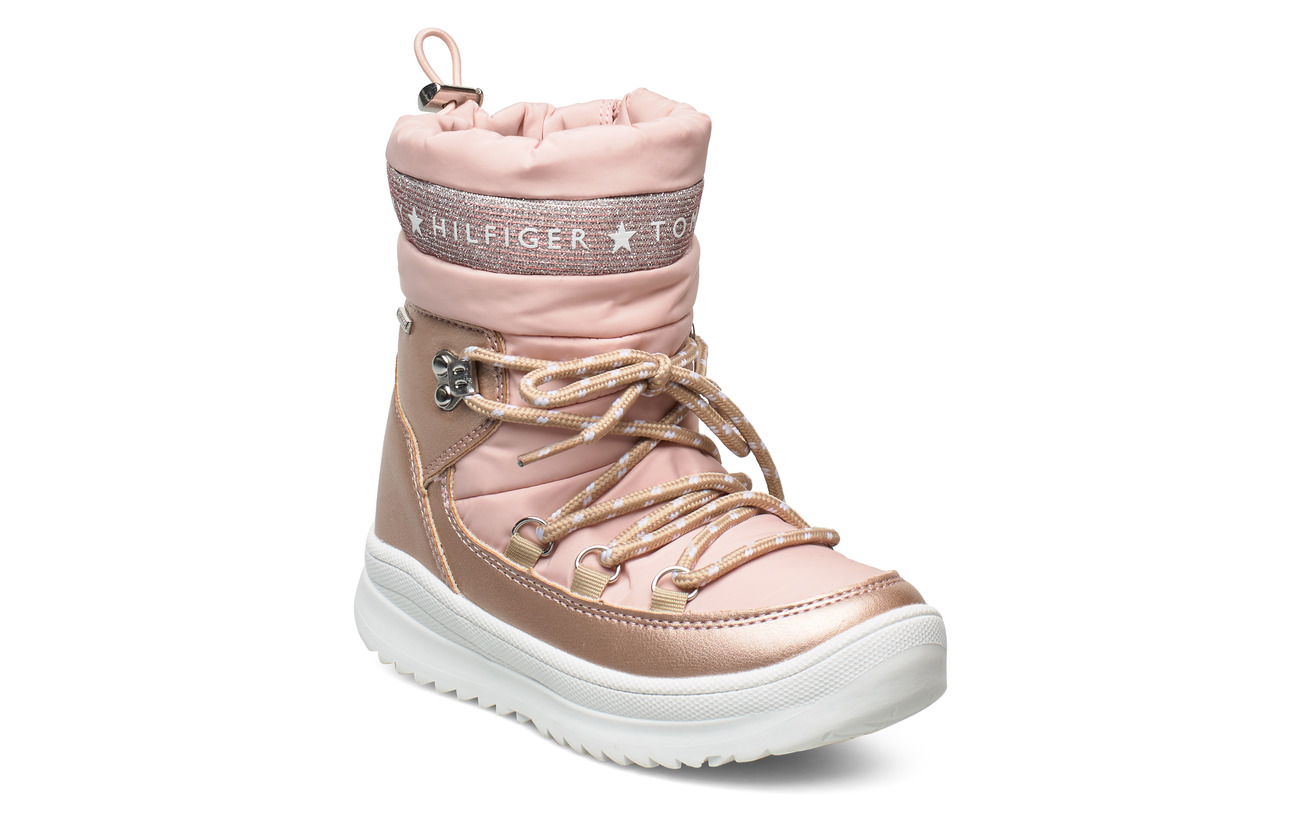 Tommy Hilfiger TECHNICAL BOOTIE - ROSA