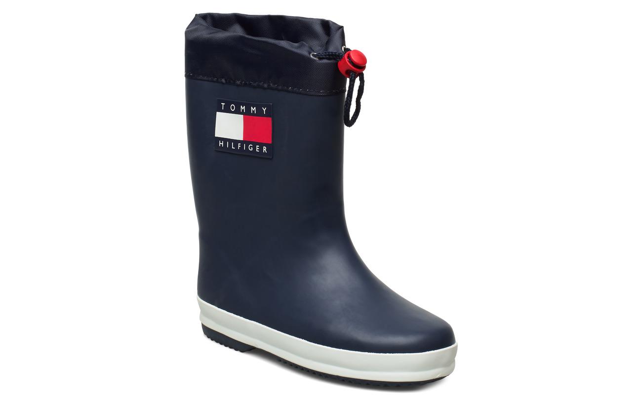 Tommy Hilfiger RAIN BOOT BLUE - BLU