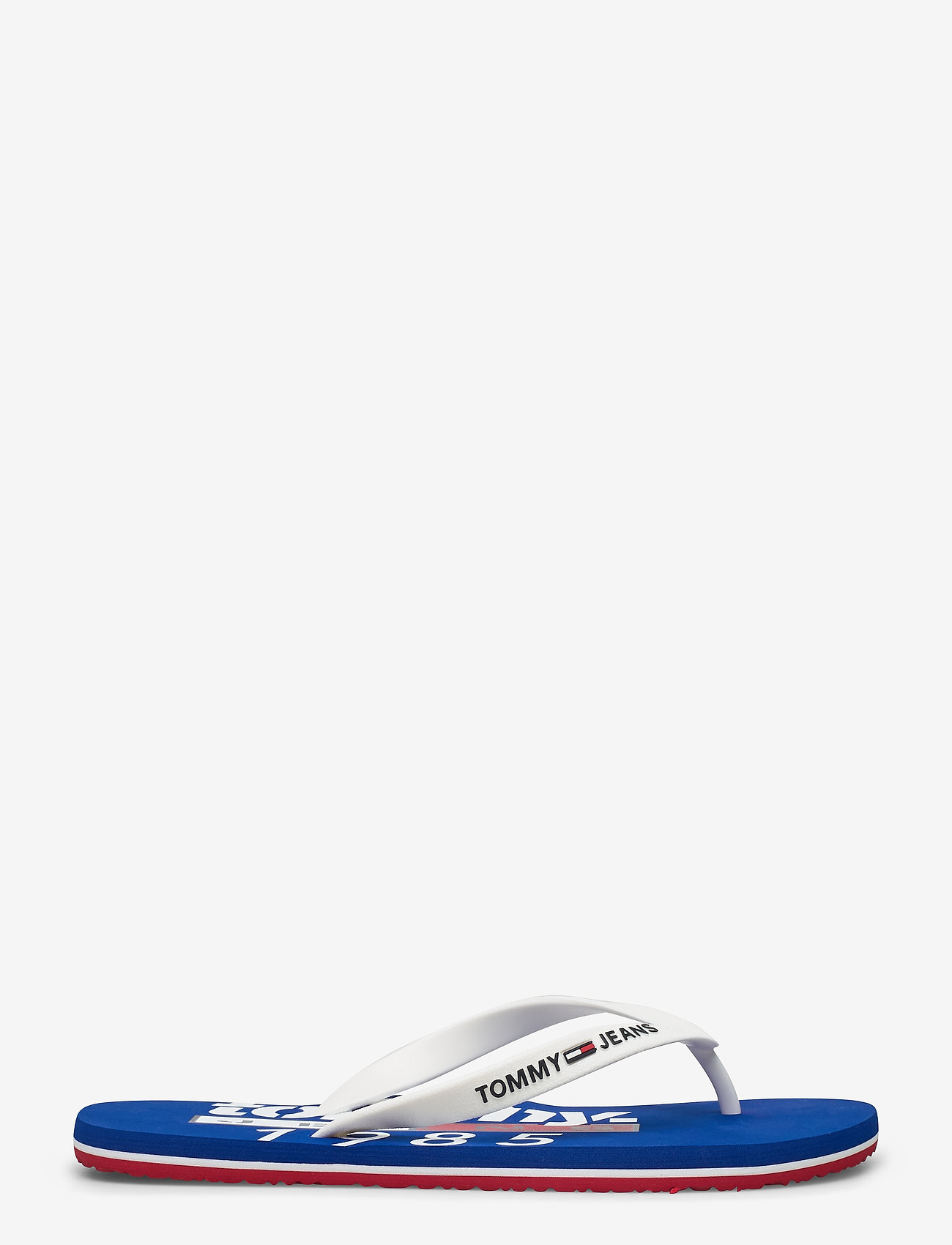 Tommy Hilfiger - TOMMY JEANS BEACH SA - flip-flops - white - 1