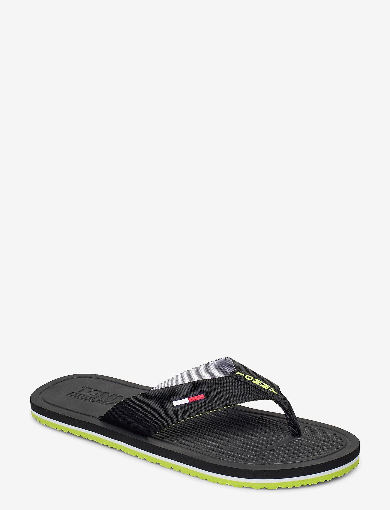 Tommy Hilfiger - COMFORT FOOTBED BEAC - flip-flops - black - 0