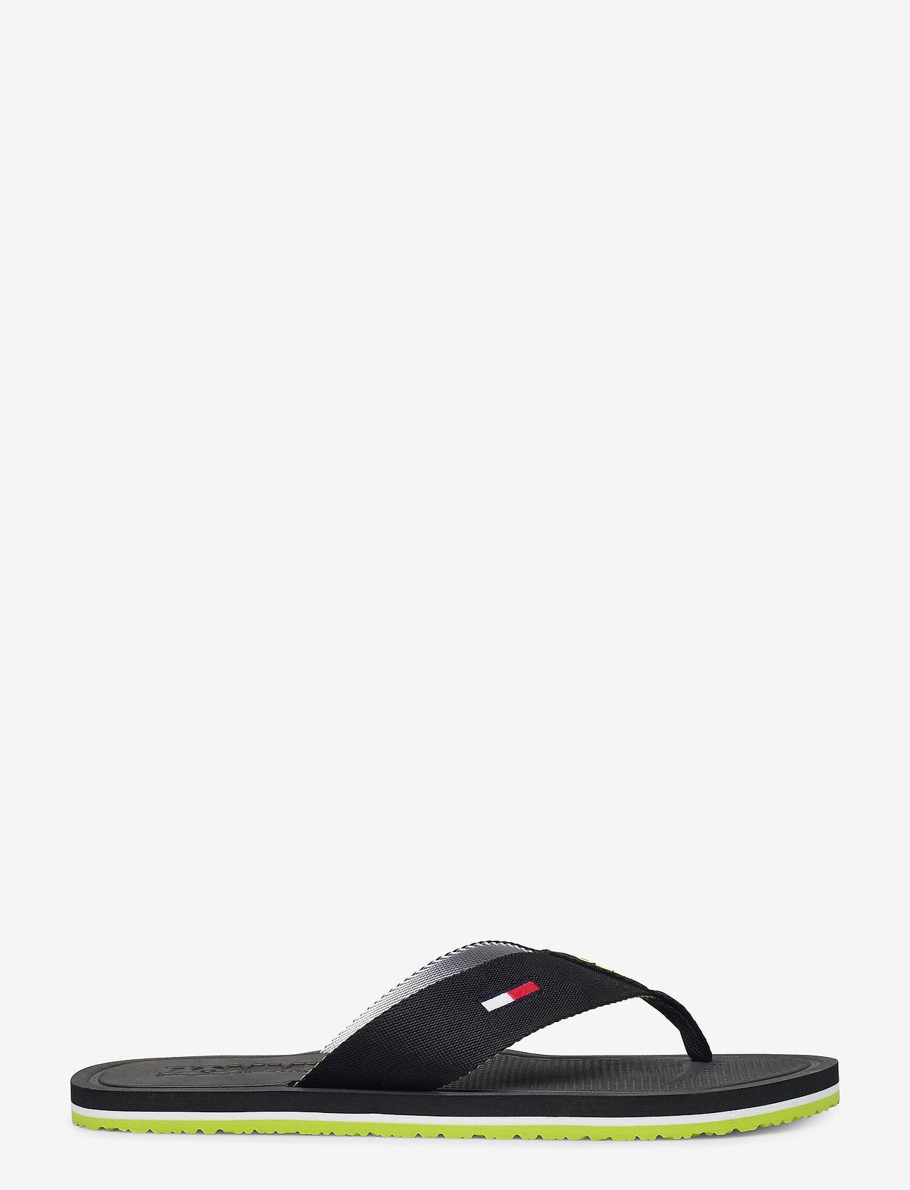 Tommy Hilfiger - COMFORT FOOTBED BEAC - flip-flops - black - 1