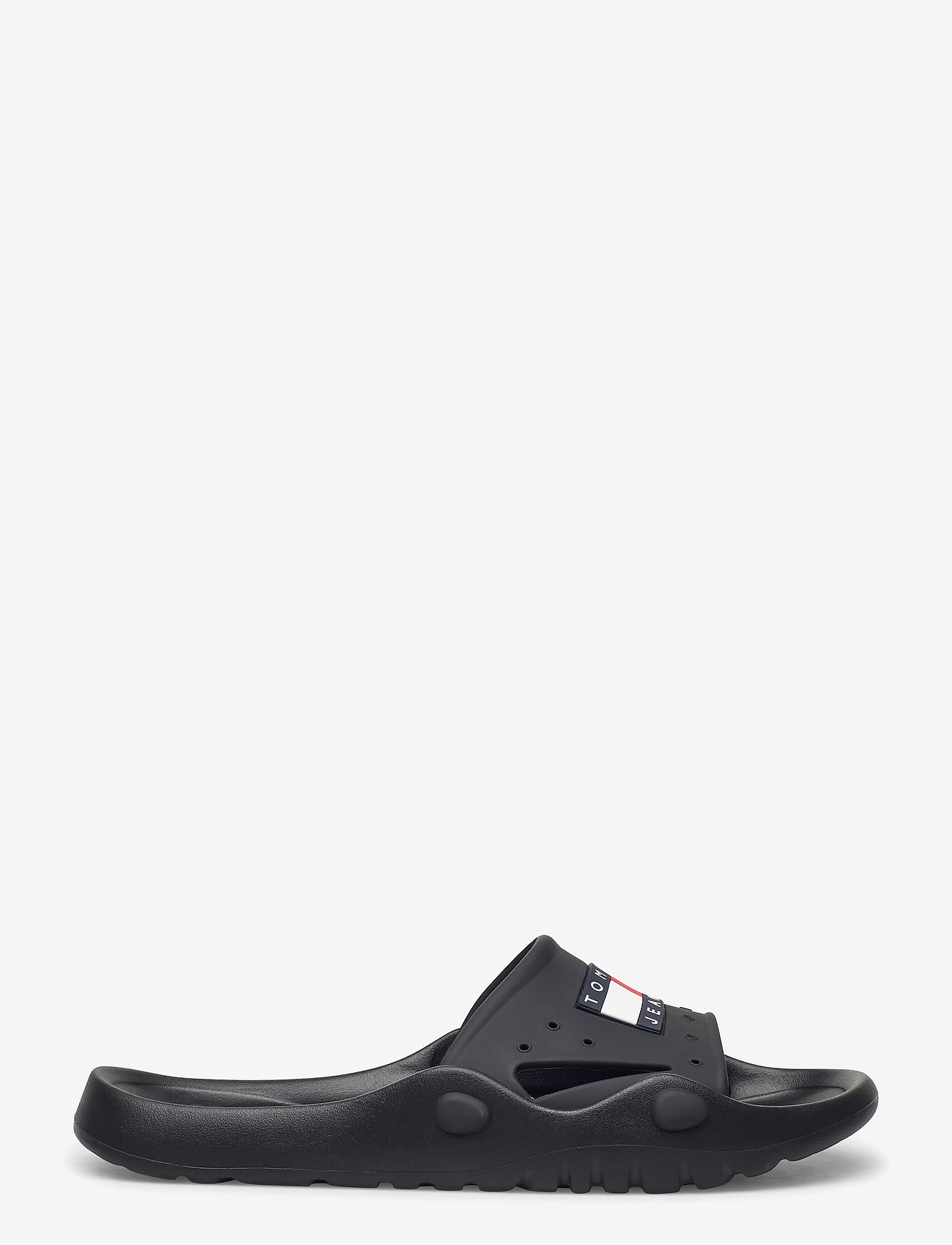Tommy Hilfiger - HERITAGE TOMMY JEANS - pool sliders - black - 1