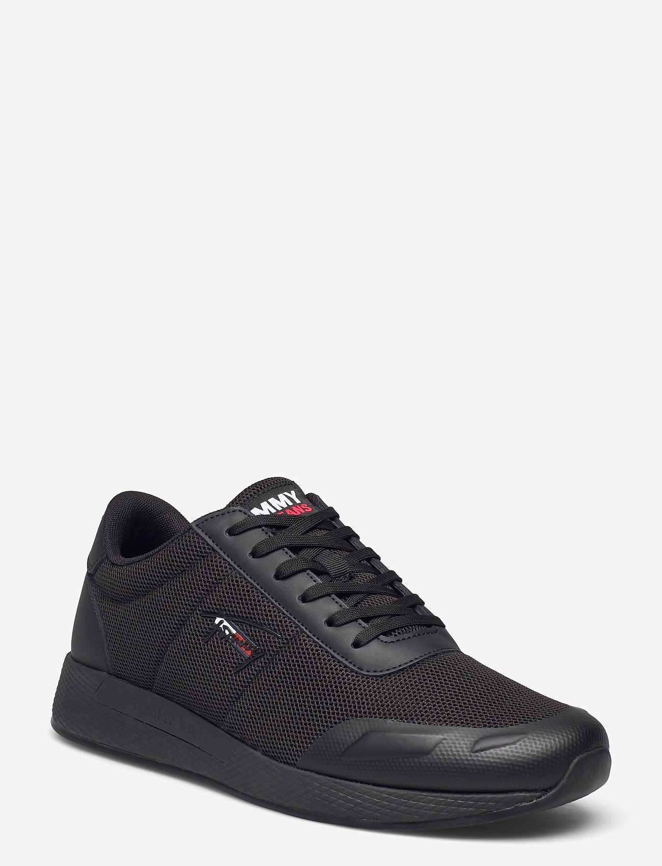 Tommy Hilfiger - FLEXI MESH TJM RUNNER - laag sneakers - black - 0