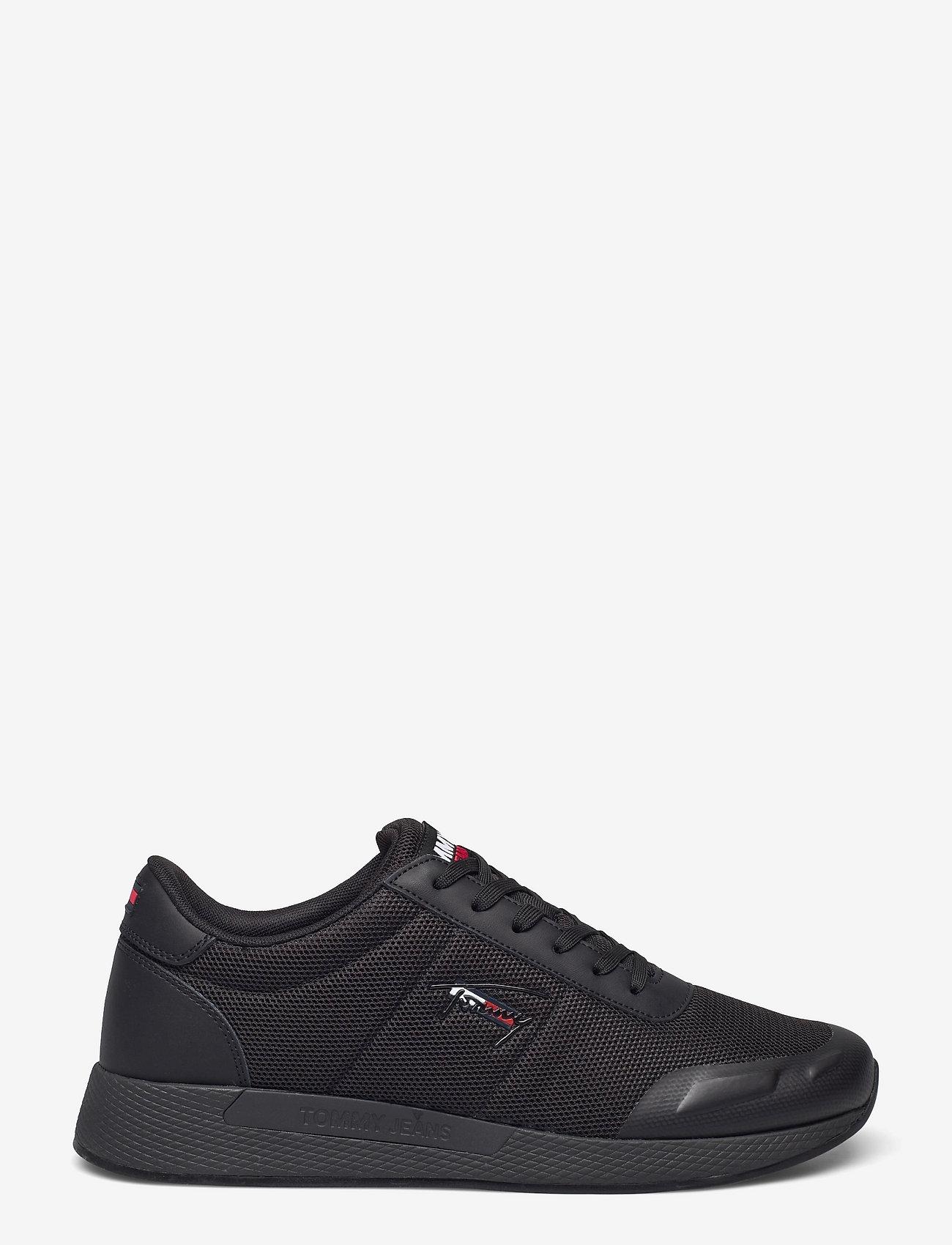 Tommy Hilfiger - FLEXI MESH TJM RUNNER - laag sneakers - black - 1