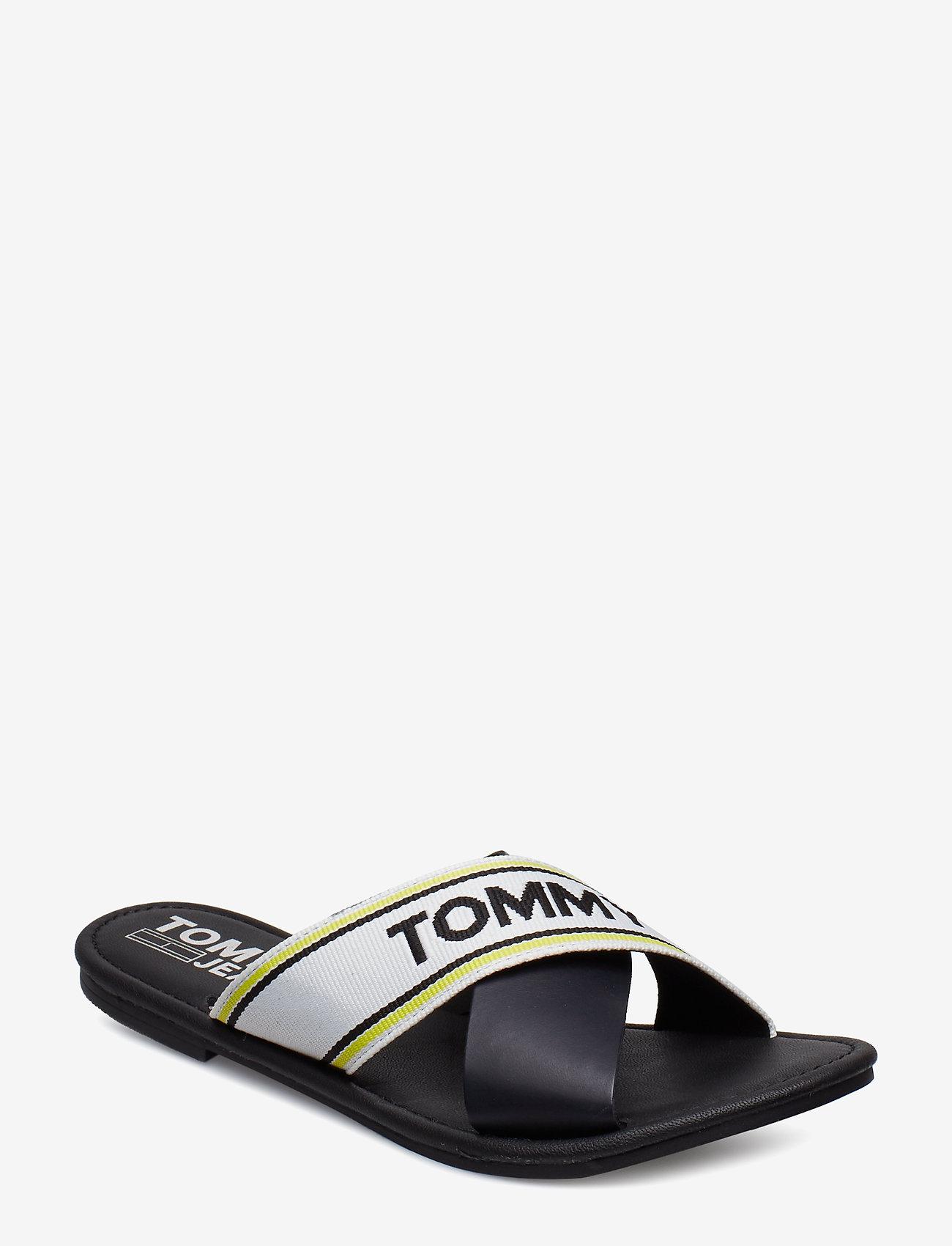 Tommy Hilfiger - SUSY 8C - flade sandaler - black - 0