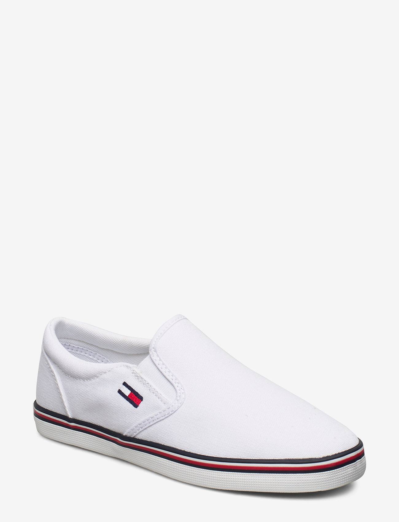 Tommy Hilfiger - ESSENTIAL SLIP ON SNEAKER - slip-on sneakers - white - 0