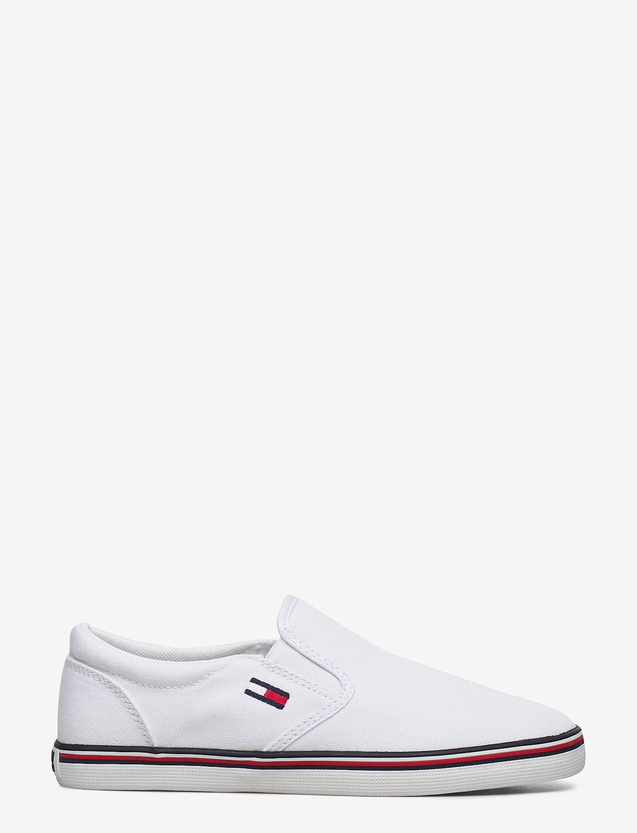 Tommy Hilfiger - ESSENTIAL SLIP ON SNEAKER - slip-on sneakers - white - 1