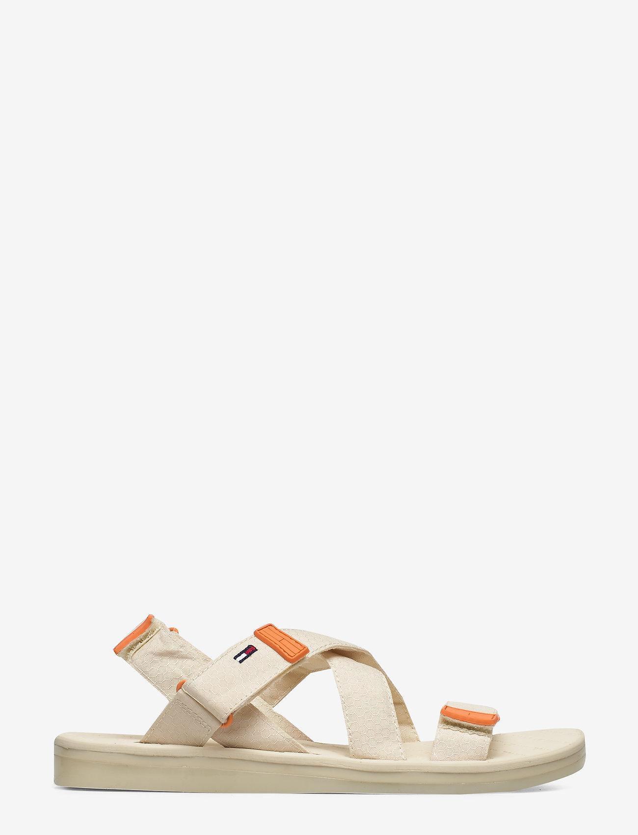 Tommy Hilfiger - TOMMY SURPLUS FLAT SANDAL - flat sandals - light silt - 1