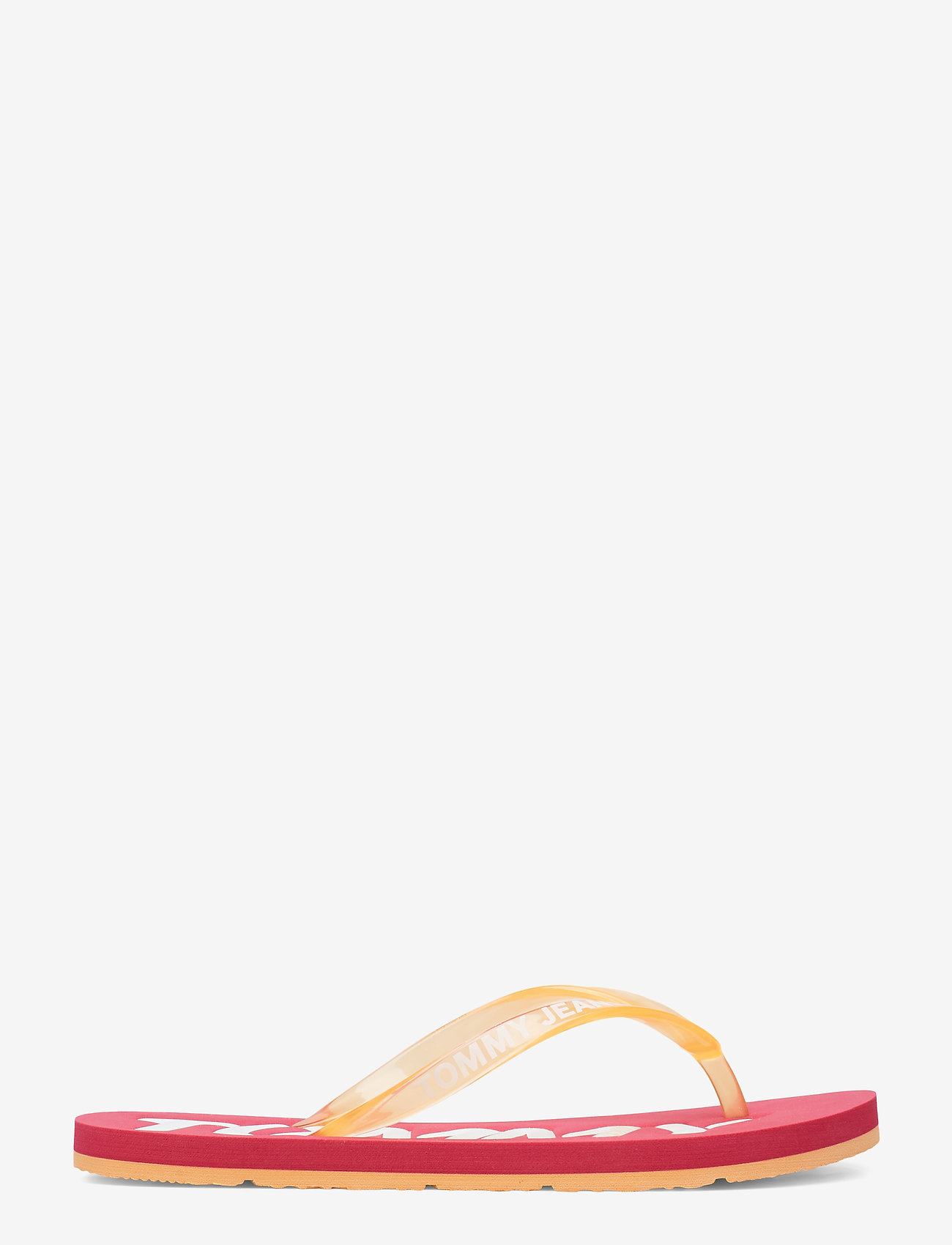 Tommy Hilfiger - POP COLOR BEACH SAND - klip-klapper - blush red - 1