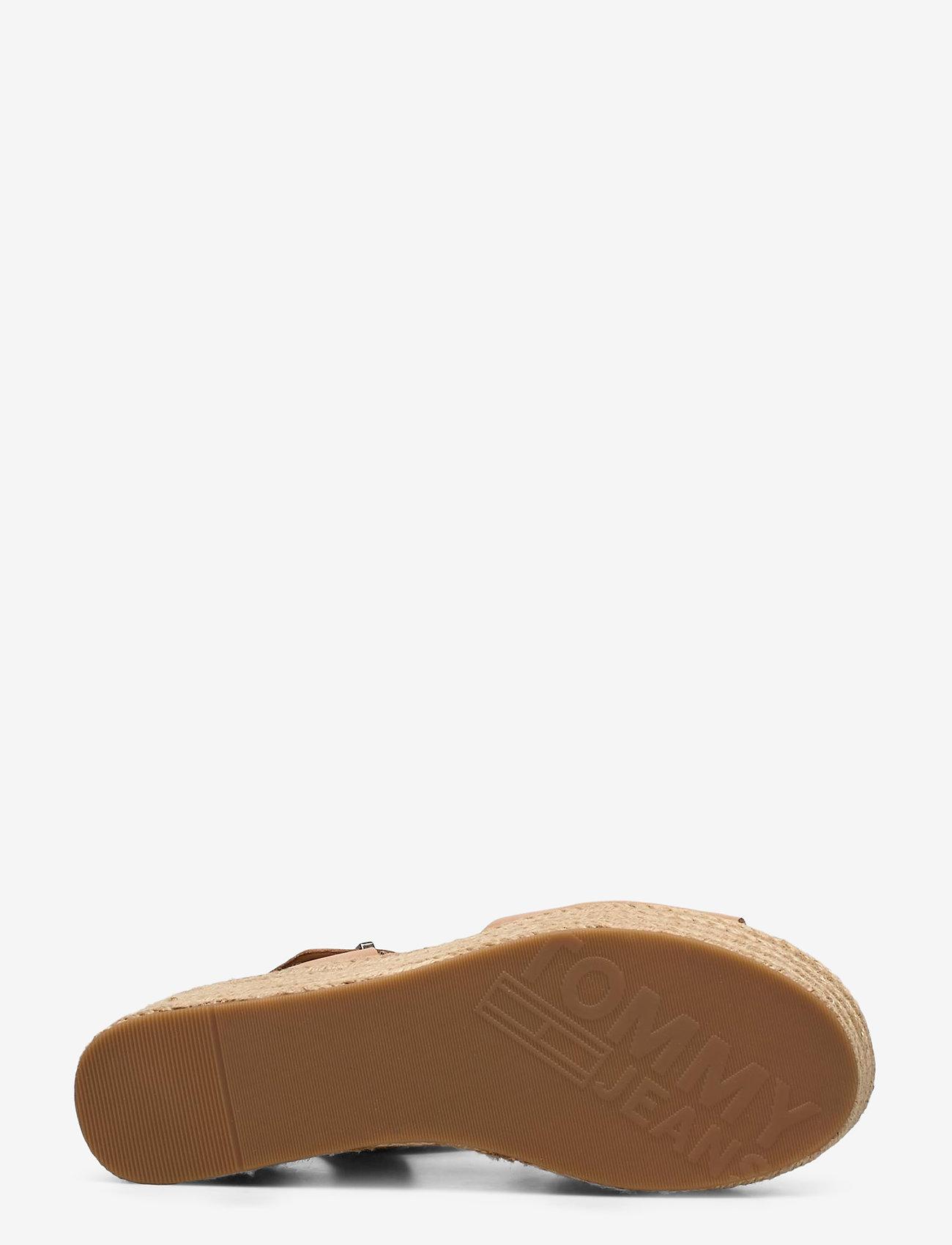 Tommy Hilfiger Natural Flatform Sandal - Espadriller Dusty Bronze