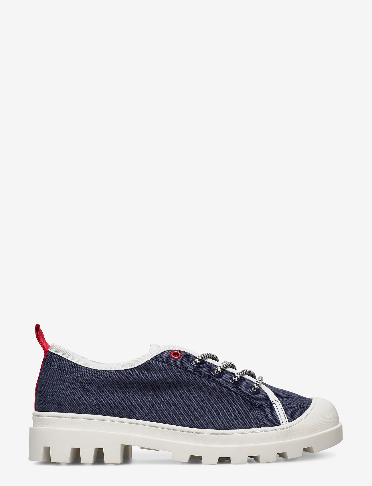 Tommy Hilfiger - COLOR BLOCK LACE UP SHOE - low top sneakers - twillight navy - 1