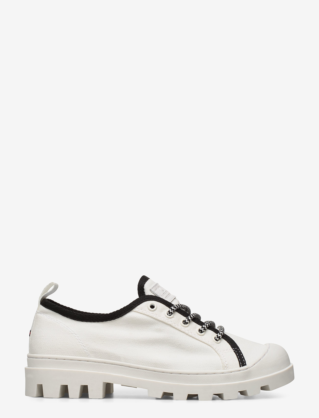Tommy Hilfiger - COLOR BLOCK LACE UP SHOE - low top sneakers - white - 1