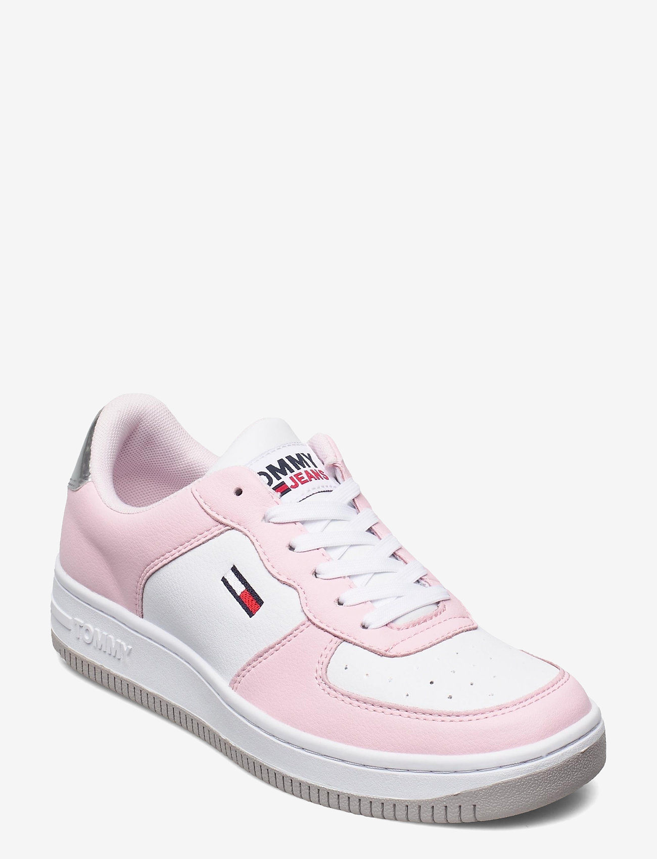 Tommy Hilfiger - WMNS TOMMY JEANS BASKET SNEAKER - low top sneakers - light pink - 0