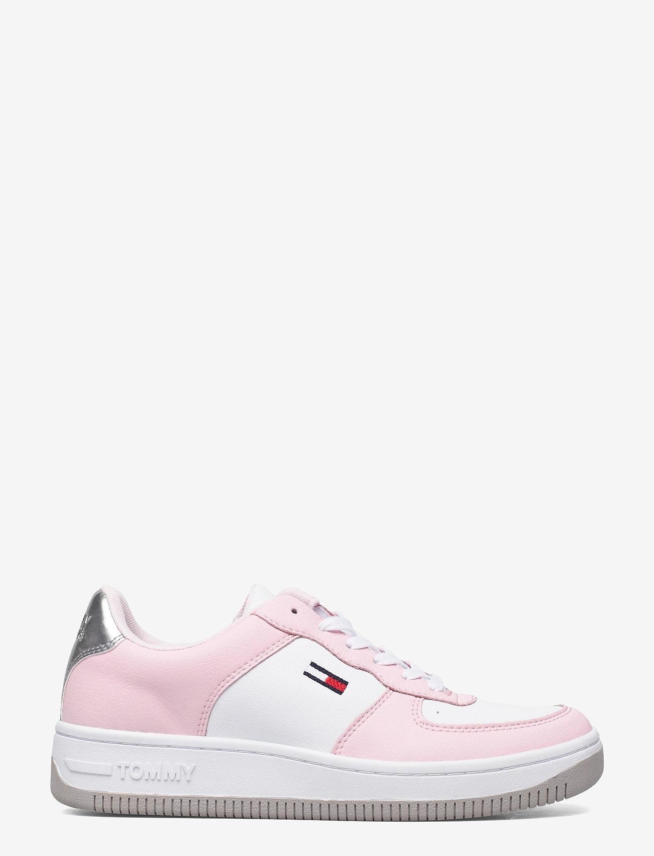 Tommy Hilfiger - WMNS TOMMY JEANS BASKET SNEAKER - low top sneakers - light pink - 1