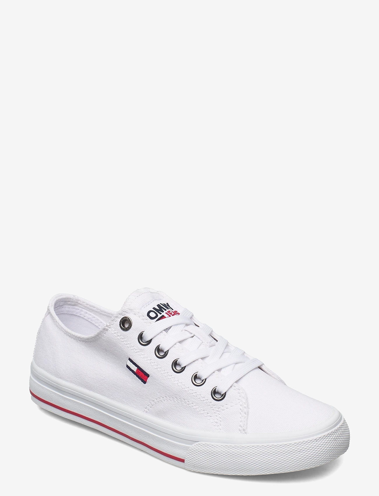 Tommy Hilfiger - TOMMY JEANS LOW CUT VULC - low top sneakers - white - 0
