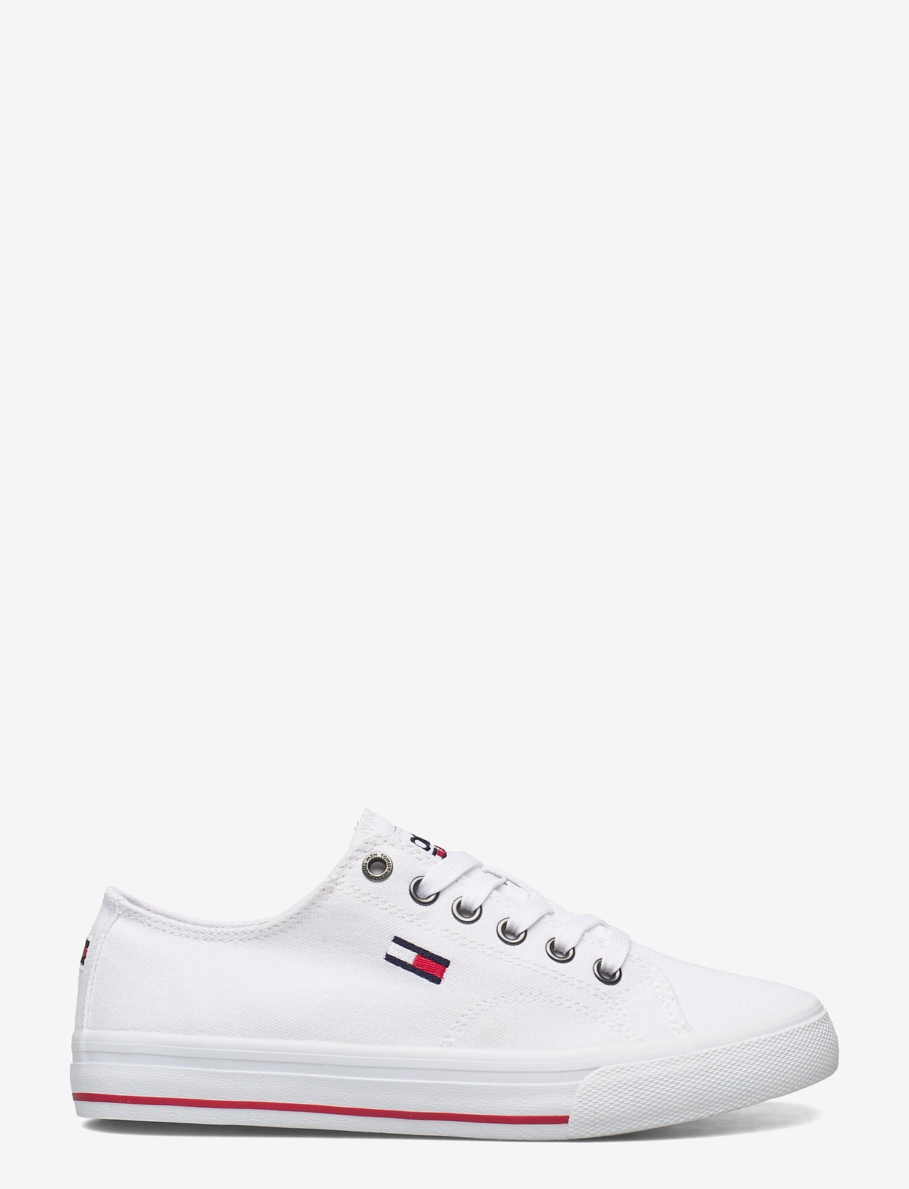 Tommy Hilfiger - TOMMY JEANS LOW CUT VULC - low top sneakers - white - 1