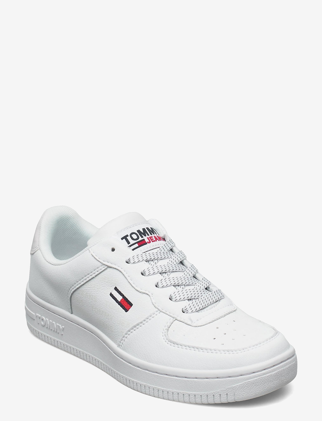Tommy Hilfiger - WMNS REFLECTIVE BASKET - low top sneakers - white - 0