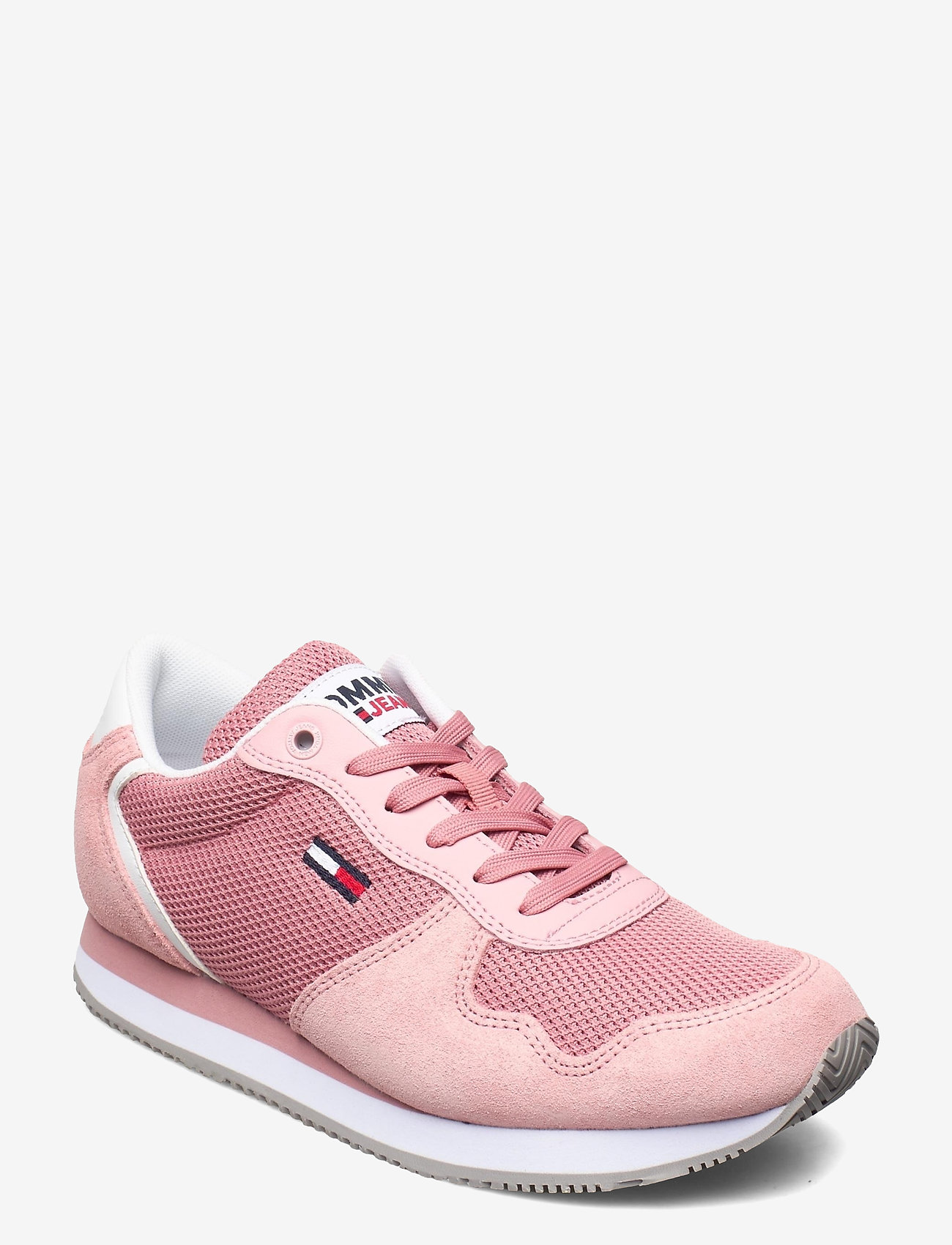 Tommy Hilfiger - TOMMY JEANS MONO SNEAKER - low top sneakers - iced rose - 0