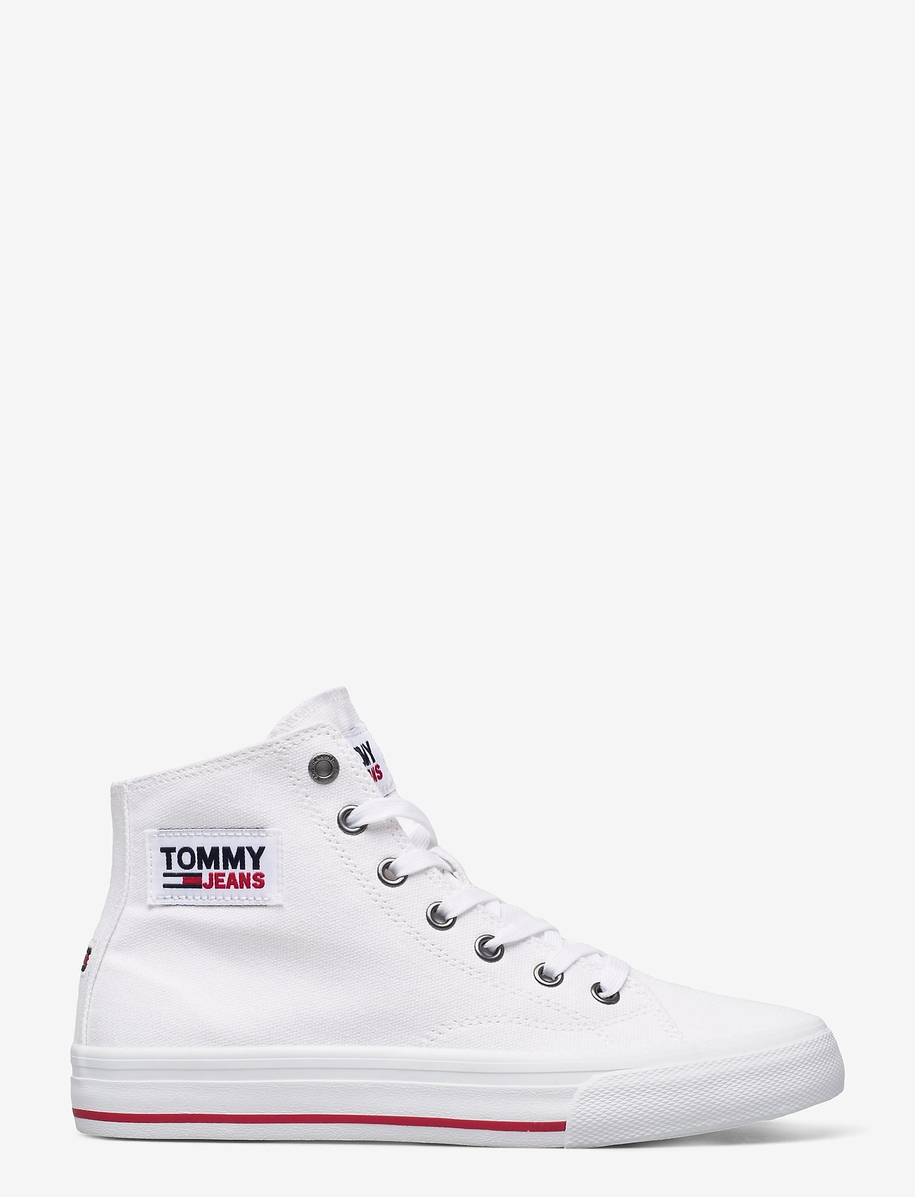 Tommy Hilfiger - TOMMY JEANS MIDCUT VULC - high top sneakers - white - 1