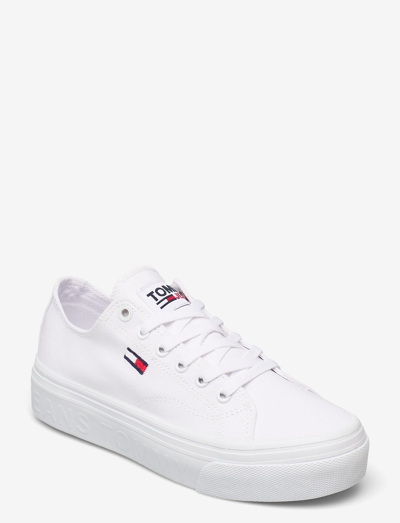 Tommy Hilfiger - TOMMY JEANS FLATFORM VULC - sneakers - white - 0