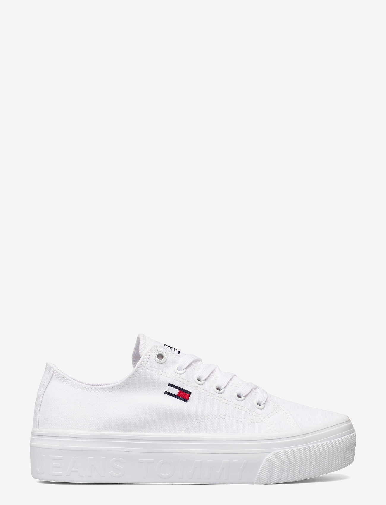 Tommy Hilfiger - TOMMY JEANS FLATFORM VULC - sneakers - white - 1