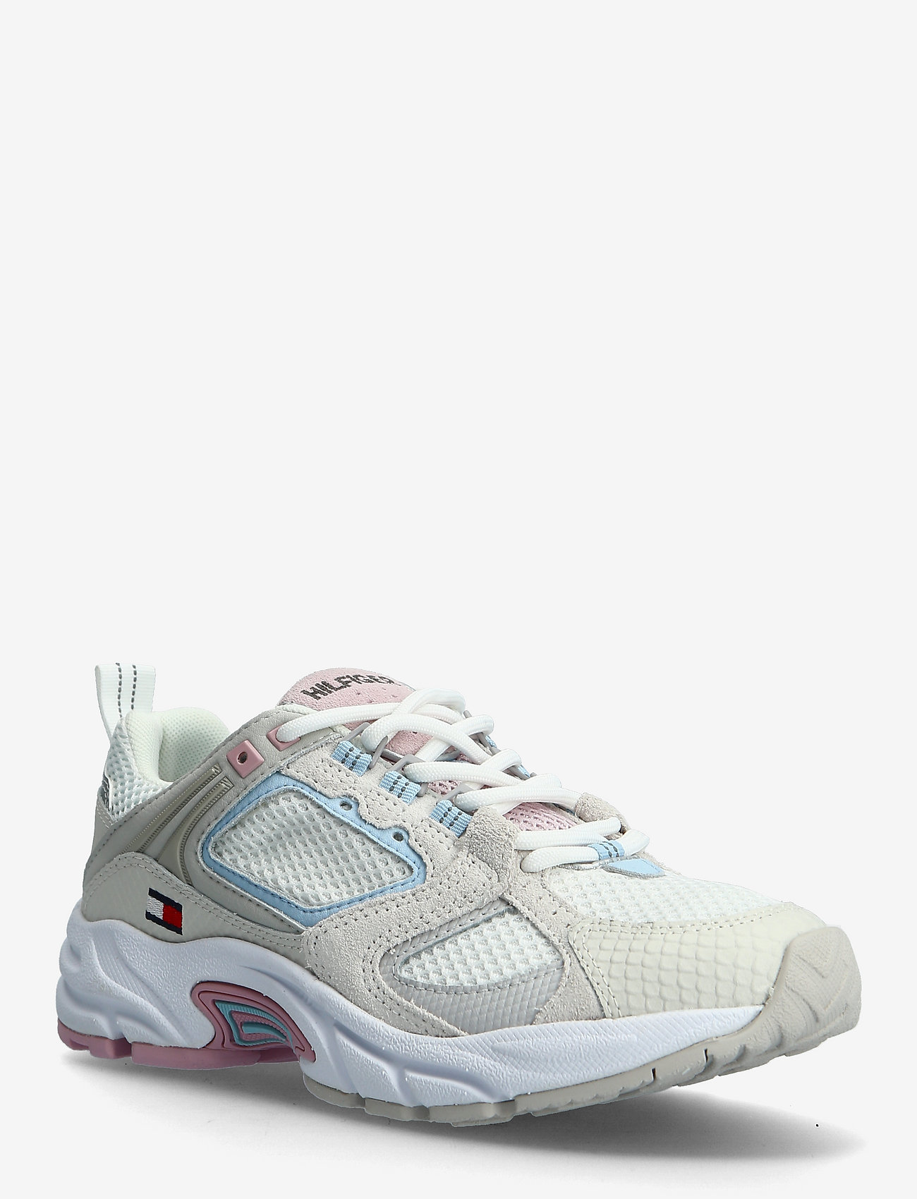 Tommy Hilfiger - WMNS ARCHIVE MESH RUNNER - low top sneakers - ivory - 0