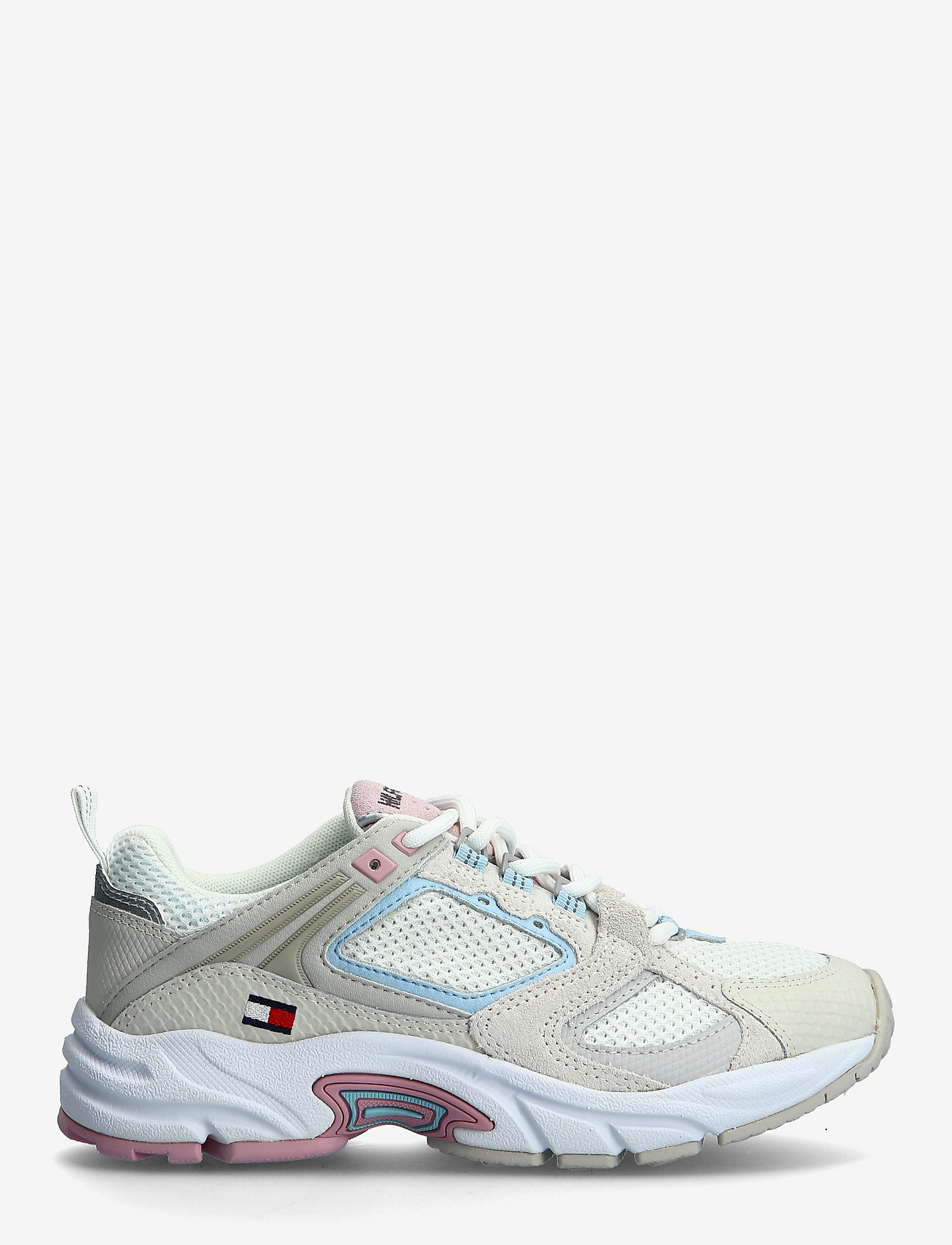 Tommy Hilfiger - WMNS ARCHIVE MESH RUNNER - low top sneakers - ivory - 1