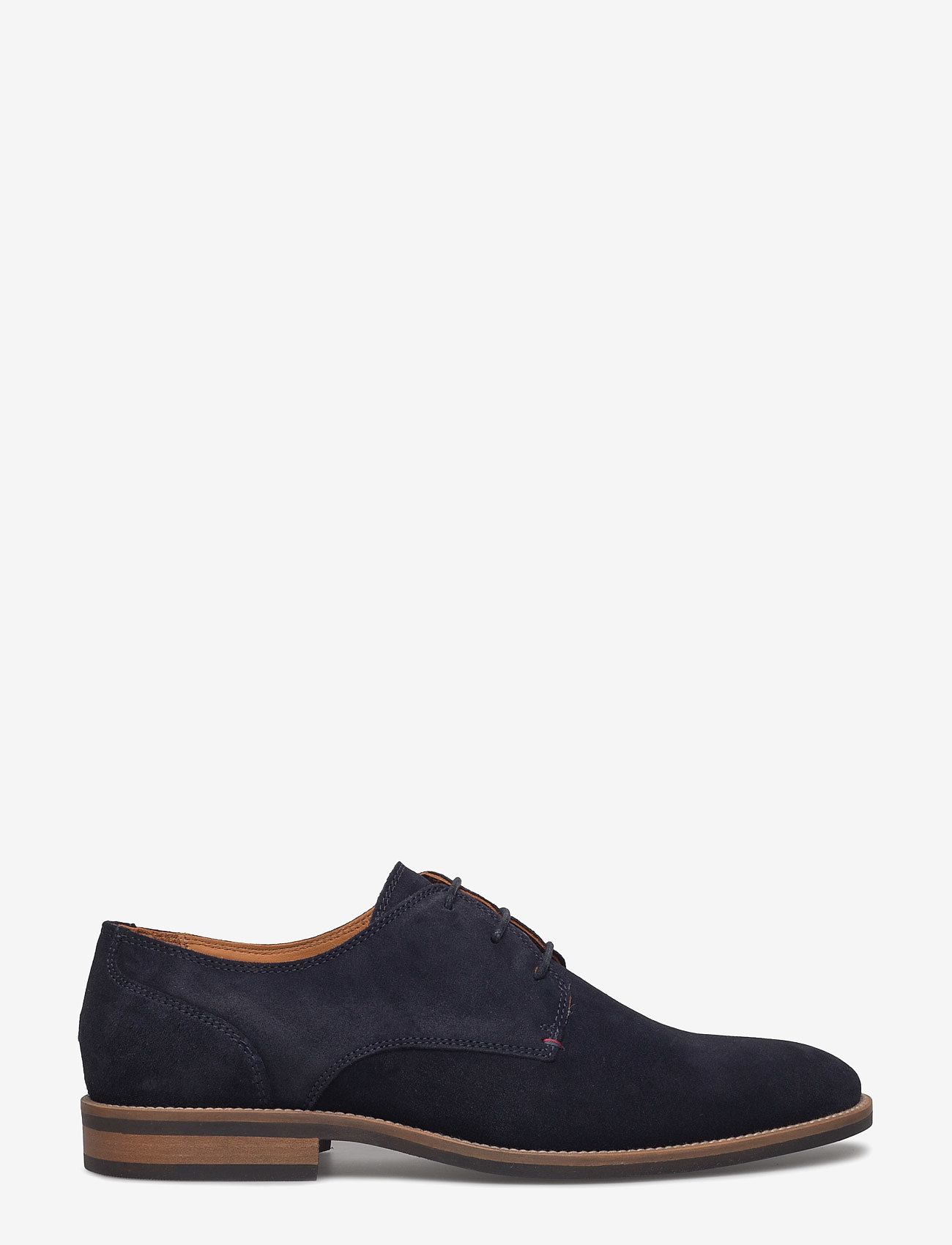 Tommy Hilfiger - ESSENTIAL SUEDE LACE UP DERBY - laced shoes - midnight - 1