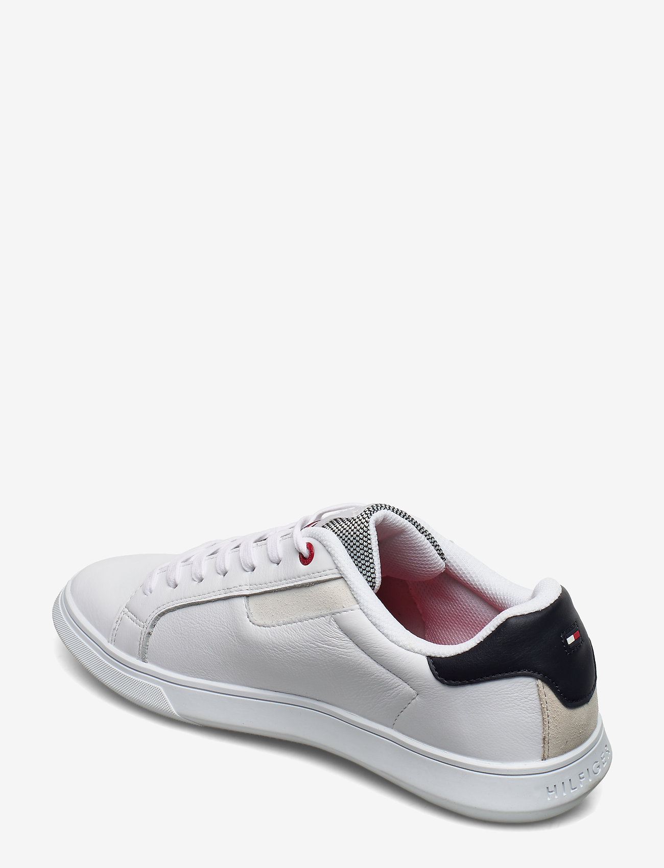 Essential Leather Cupsole (White) - Tommy Hilfiger