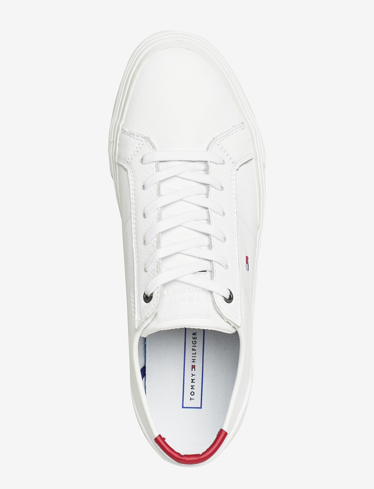 Core Corporate Flag Sneaker (White) - Tommy Hilfiger