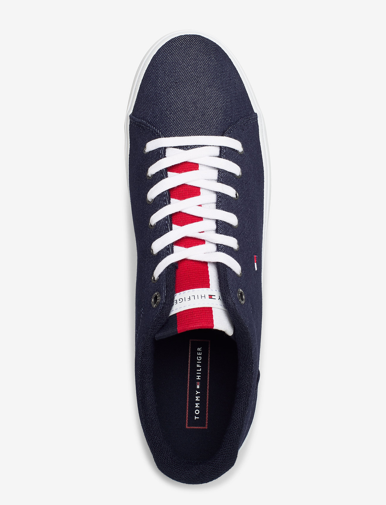 Essential Long Lace Sneaker (Desert Sky) - Tommy Hilfiger