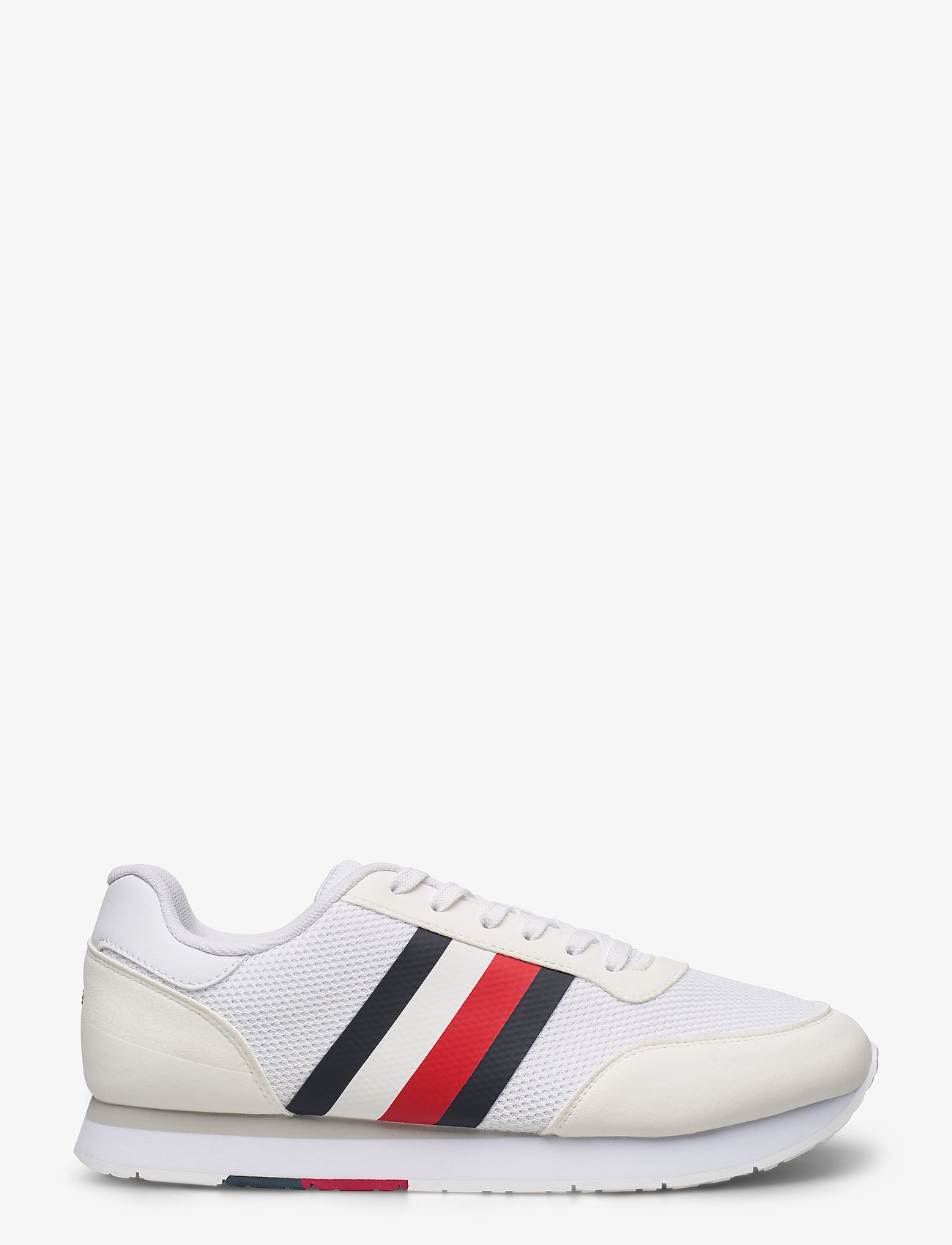 Tommy Hilfiger - CORPORATE MATERIAL MIX RUNNER - low top sneakers - white - 1
