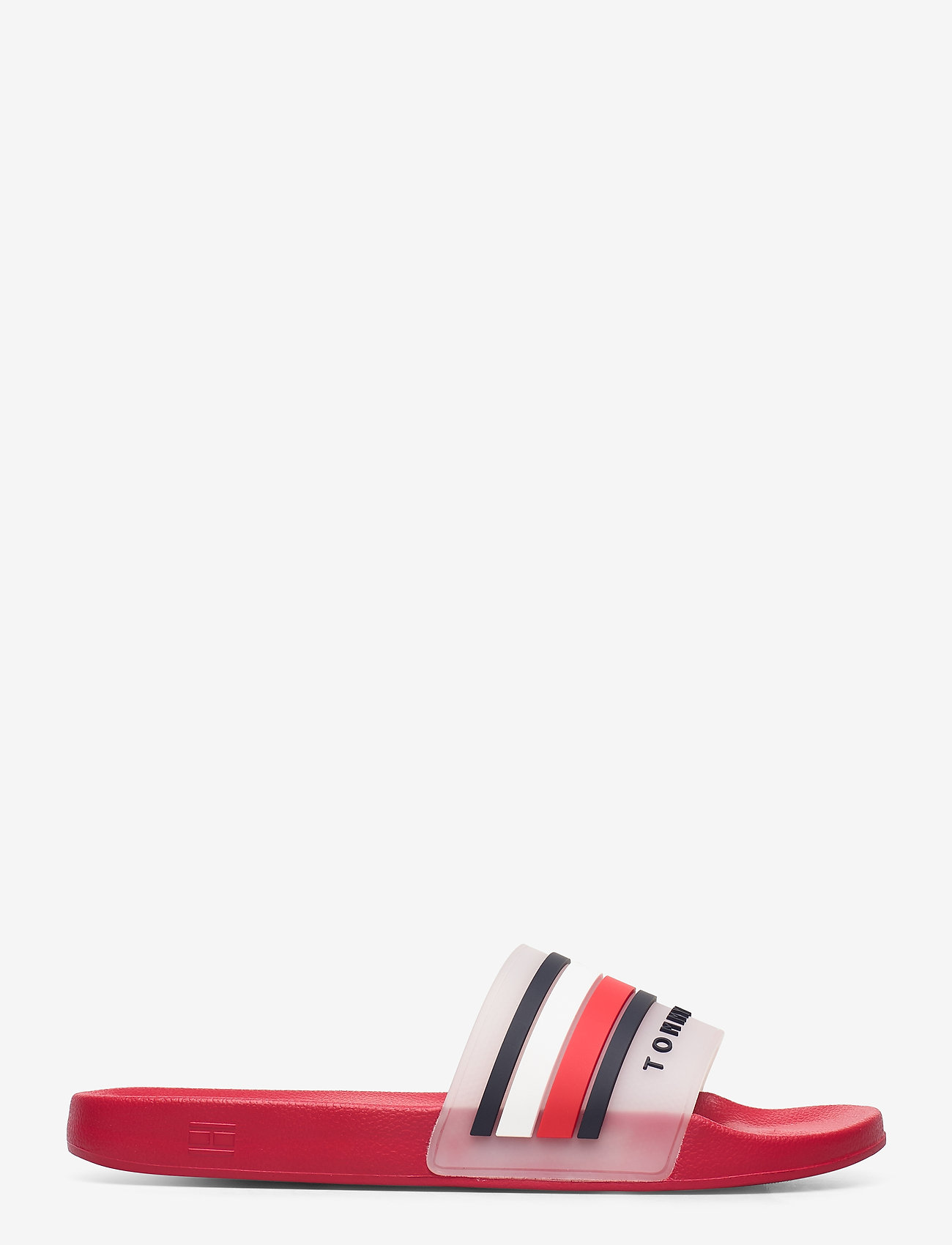 Tommy Hilfiger - TOMMY HILFIGER POOLS - pool sliders - primary red - 1