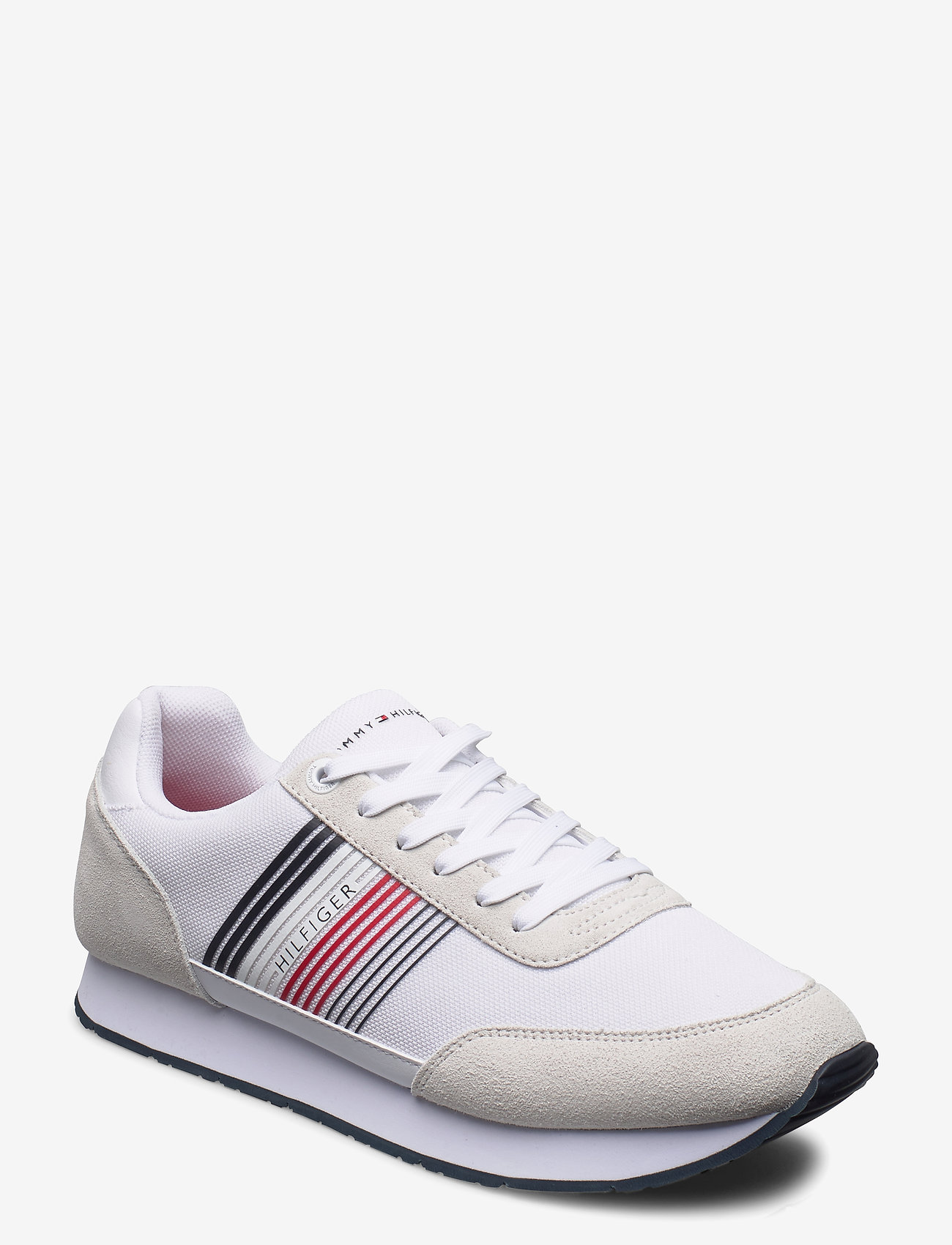 Tommy Hilfiger - CORPORATE MATERIAL MIX RUNNER - low tops - white - 0