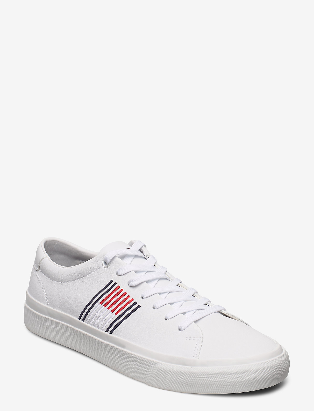 Tommy Hilfiger - CORPORATE LEATHER SNEAKER - low tops - white - 0