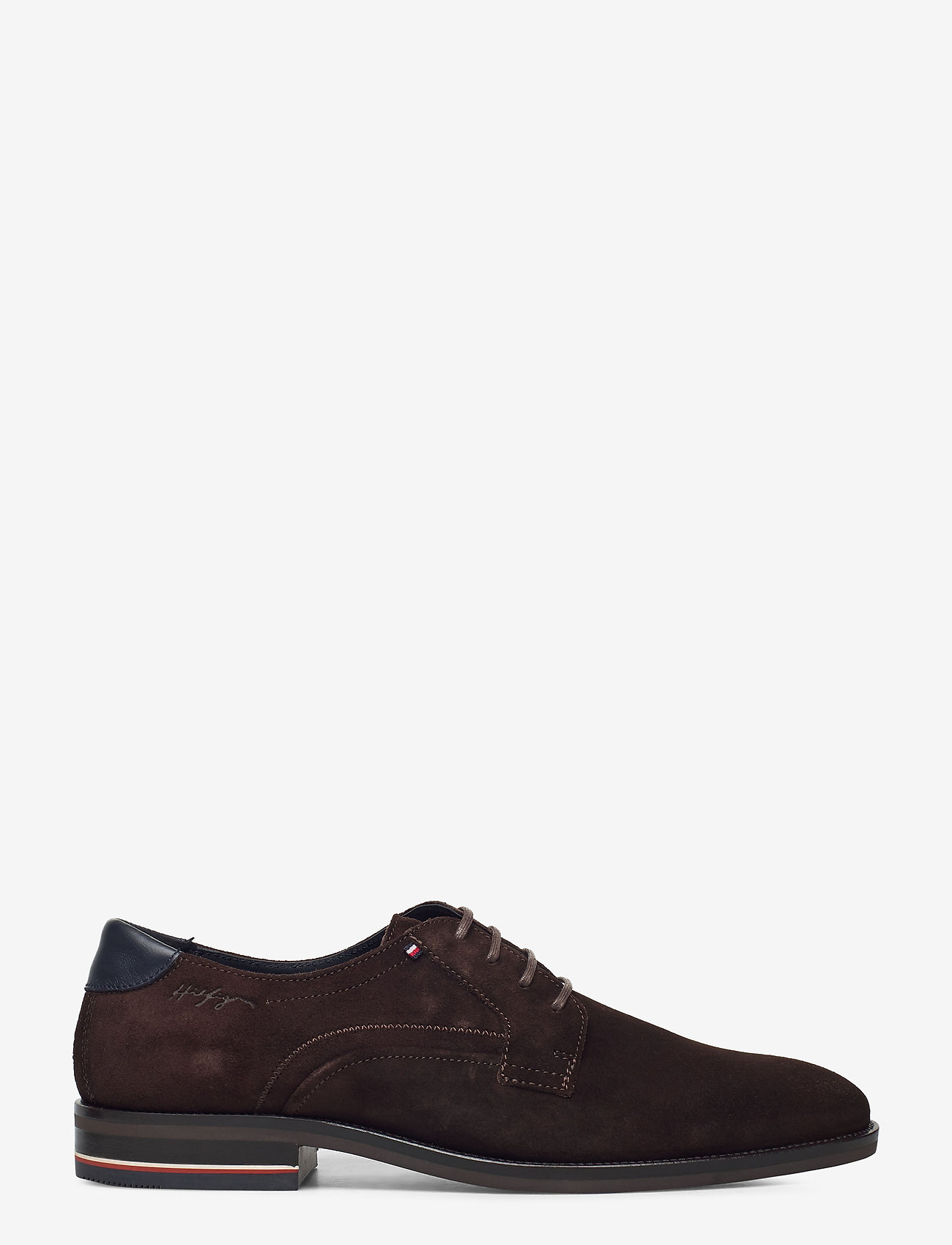 Tommy Hilfiger - SIGNATURE HILFIGER SUEDE SHOE - laced shoes - cocoa - 1