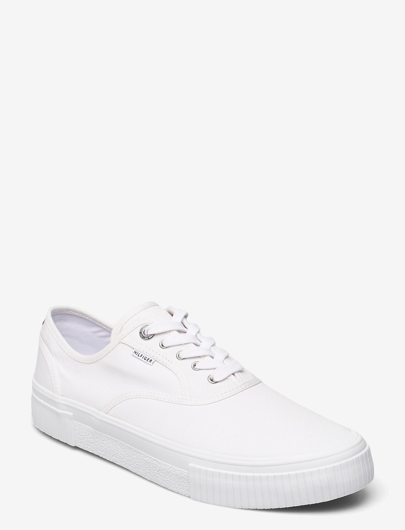 Tommy Hilfiger - ELEVATED SEASONAL VULC TEXTILE - laag sneakers - white - 1