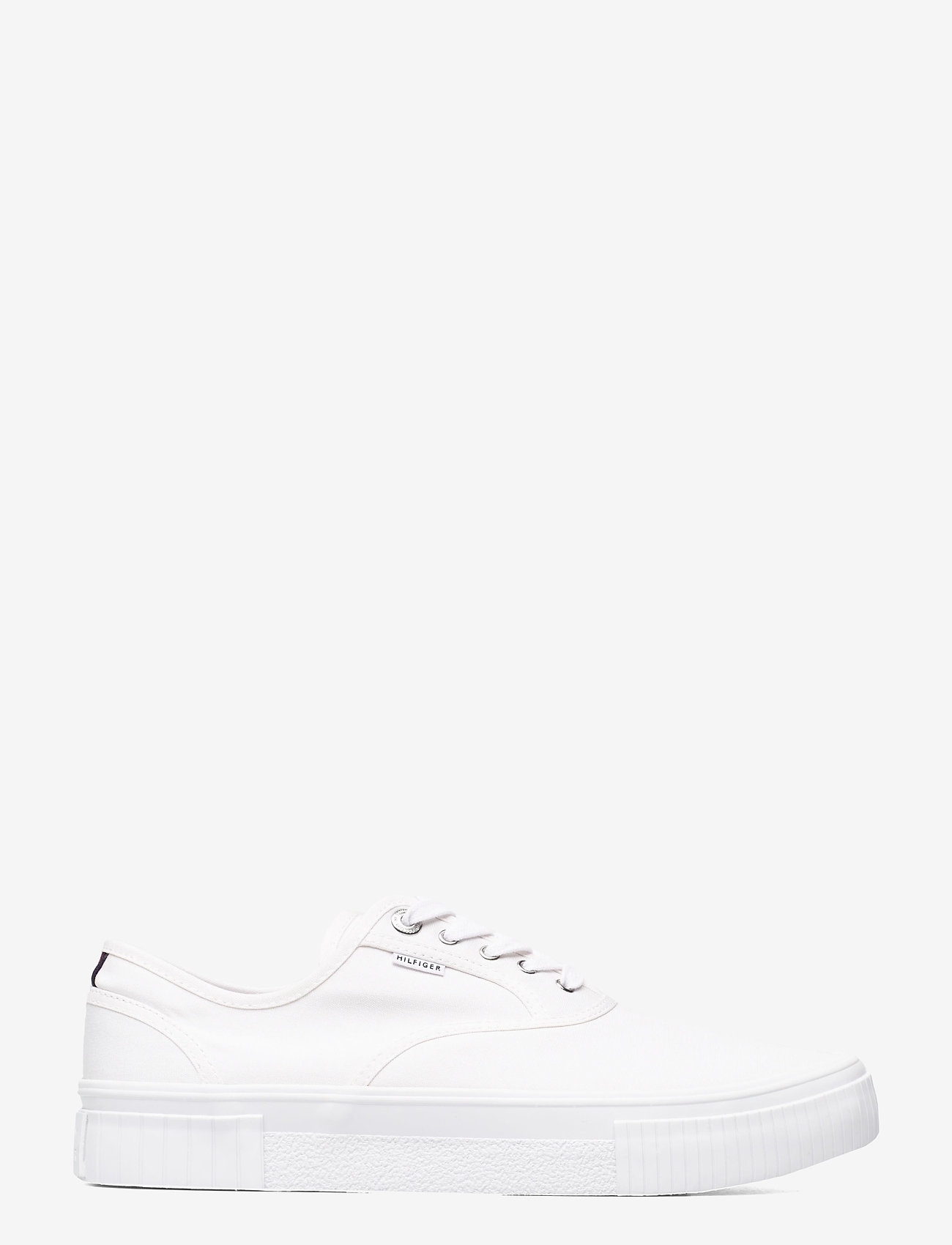 Tommy Hilfiger - ELEVATED SEASONAL VULC TEXTILE - laag sneakers - white - 0