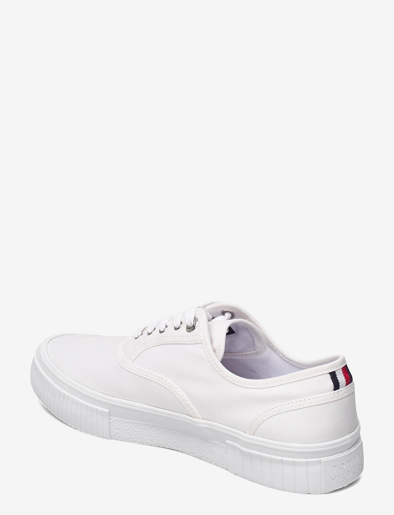 Tommy Hilfiger - ELEVATED SEASONAL VULC TEXTILE - laag sneakers - white - 2
