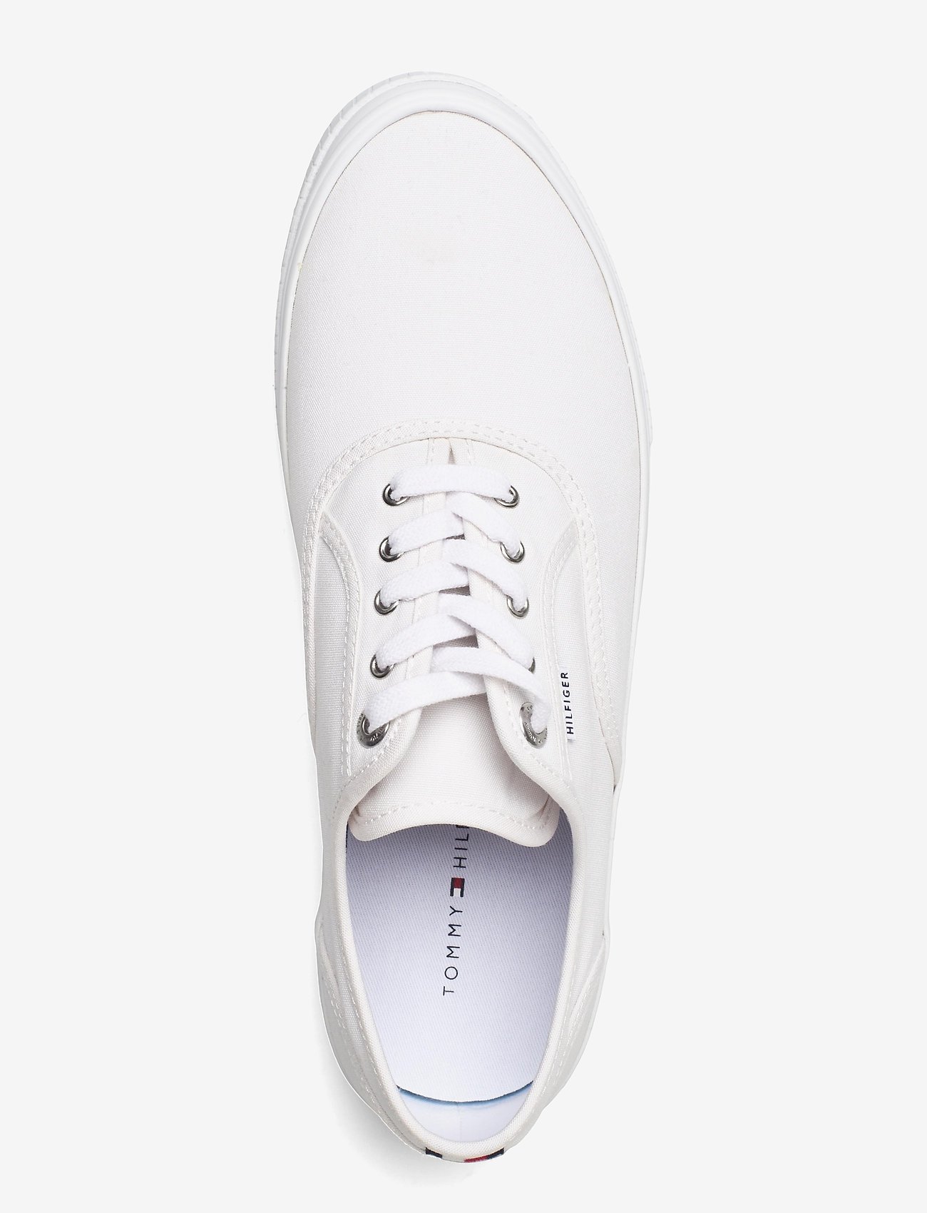 Tommy Hilfiger - ELEVATED SEASONAL VULC TEXTILE - laag sneakers - white - 3