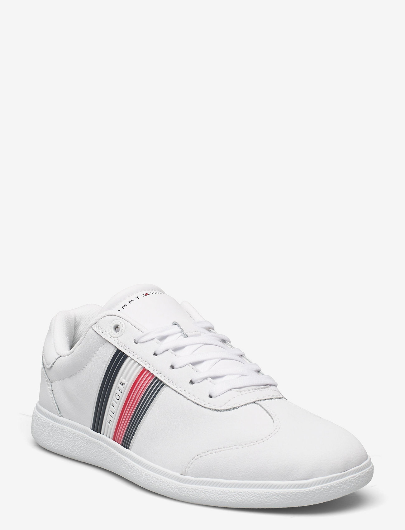 Tommy Hilfiger - CORE CORPORATE LEATHER CUPSOLE - low tops - white - 0