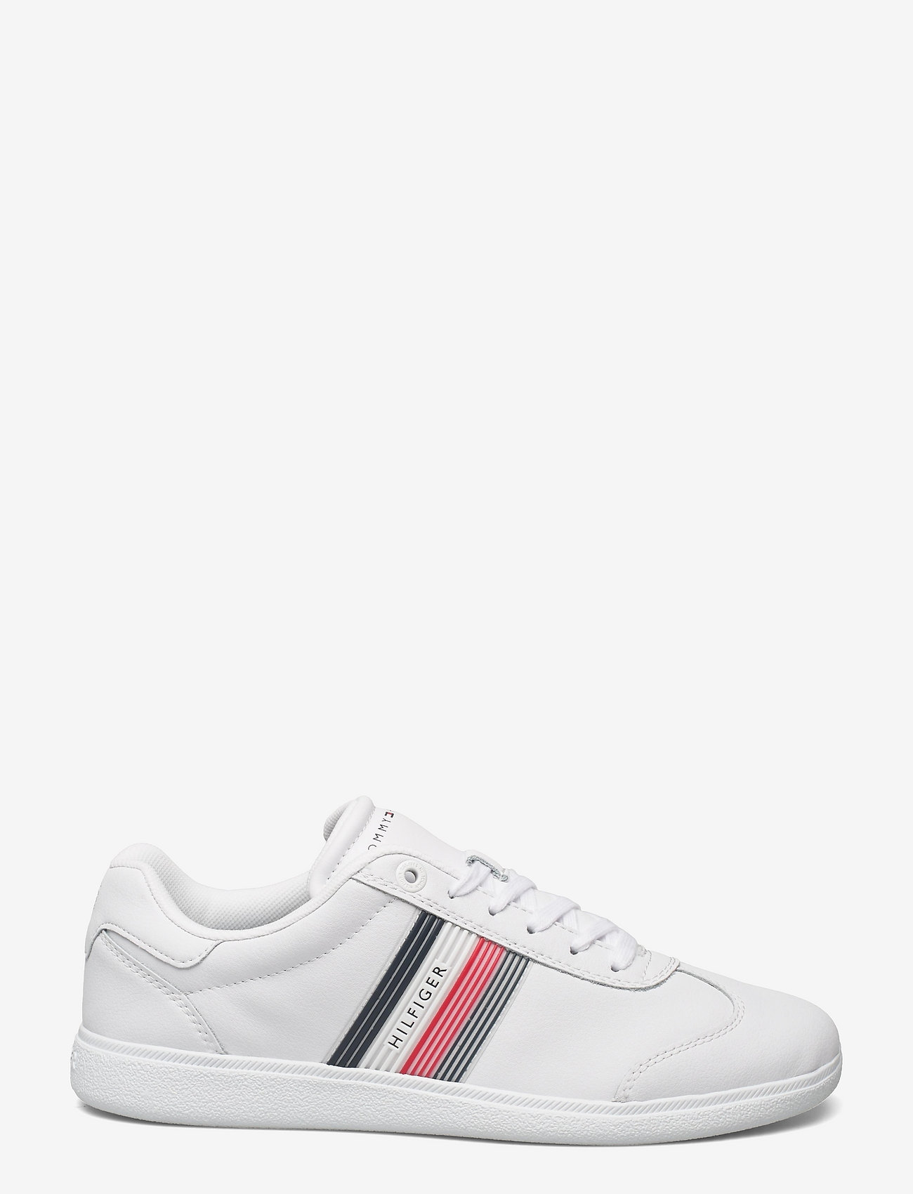Tommy Hilfiger - CORE CORPORATE LEATHER CUPSOLE - low tops - white - 1
