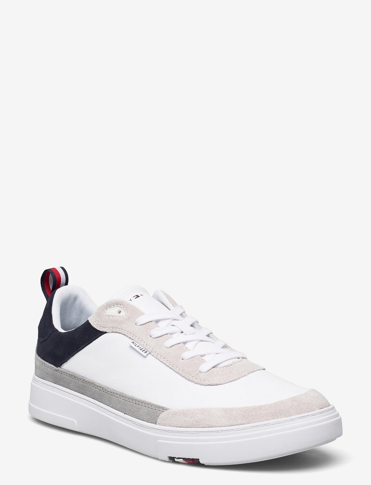 Tommy Hilfiger - MODERN CUPSOLE LEATHER MIX - low tops - desert sky - 0