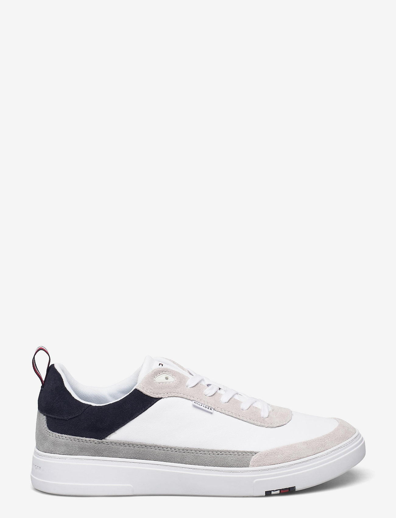 Tommy Hilfiger - MODERN CUPSOLE LEATHER MIX - low tops - desert sky - 1
