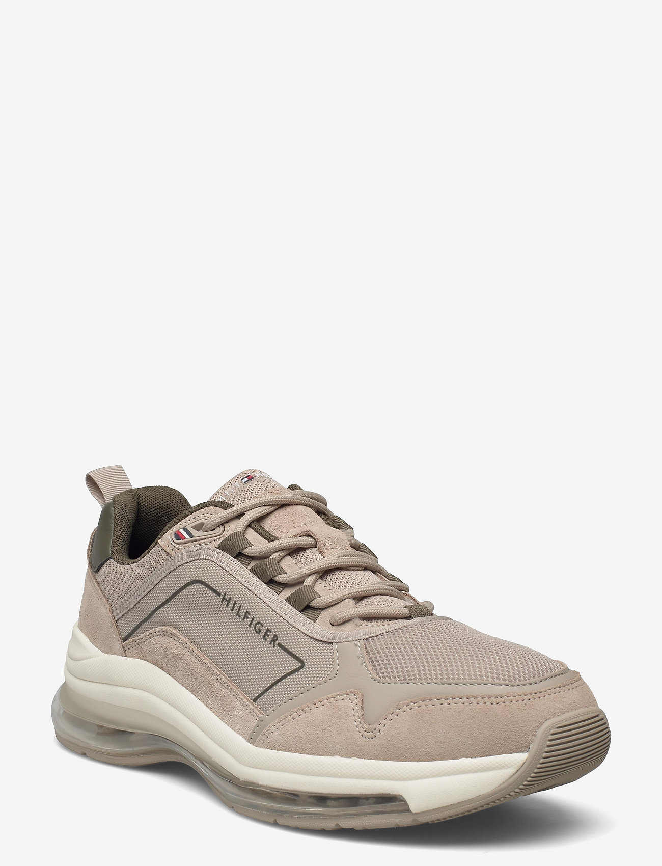 Tommy Hilfiger - AIR RUNNER MIX - low tops - stone - 0