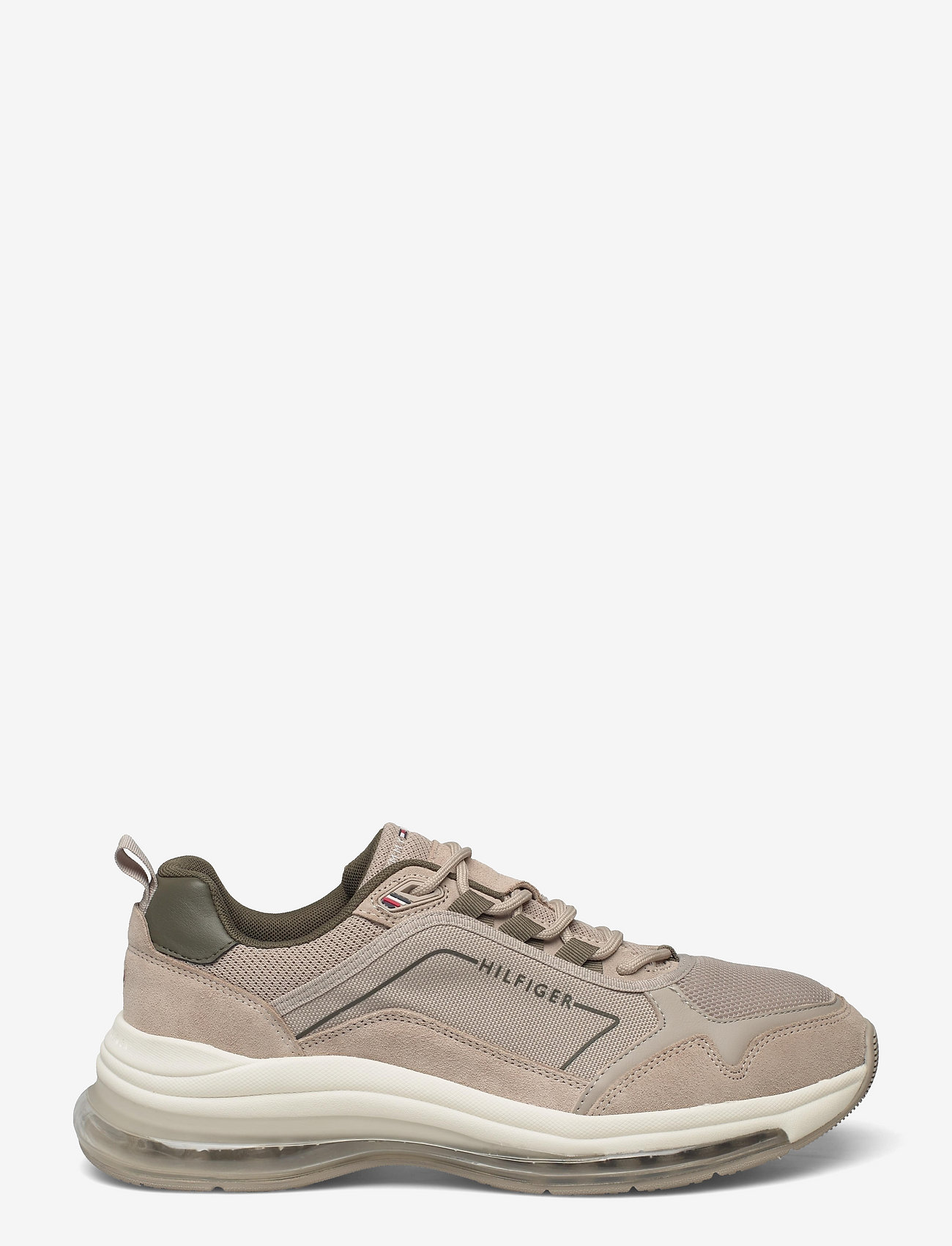 Tommy Hilfiger - AIR RUNNER MIX - low tops - stone - 1